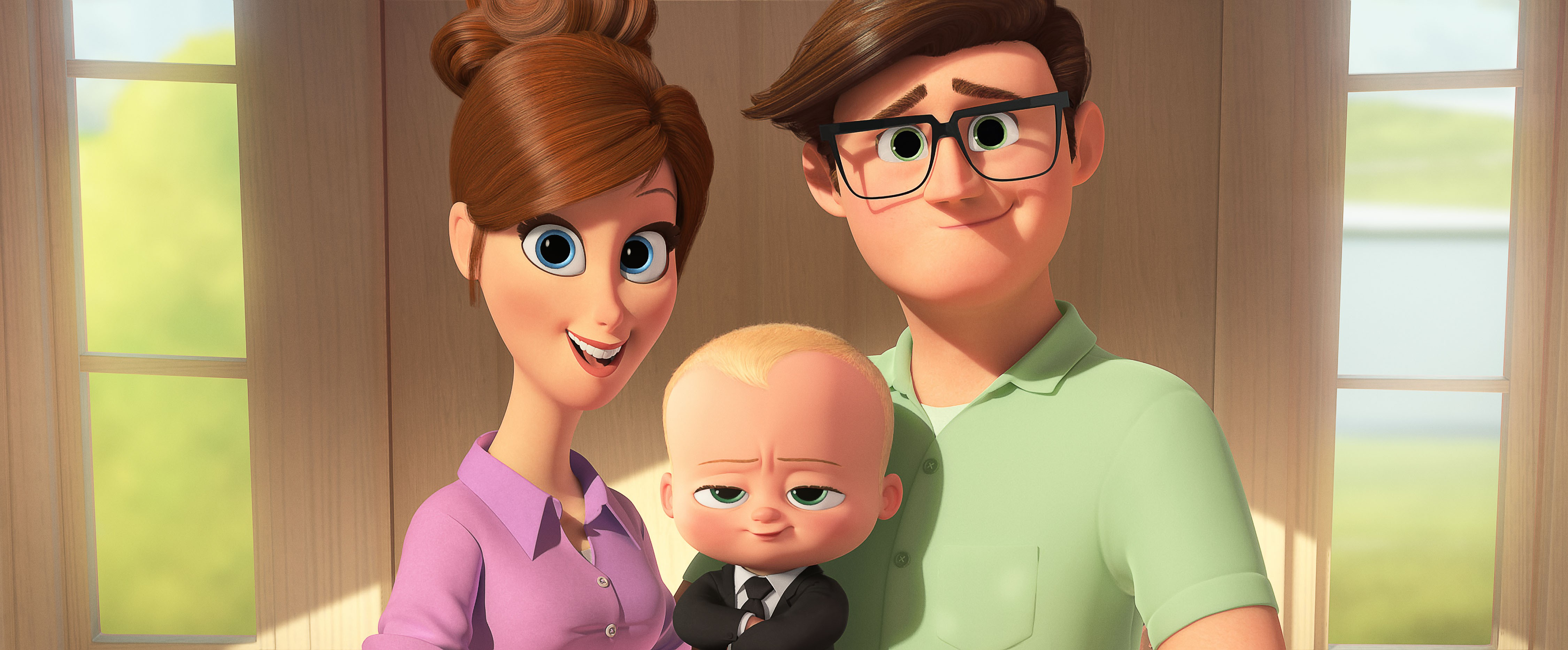 wallpaper the boss baby, baby, family, best animation movies, movies