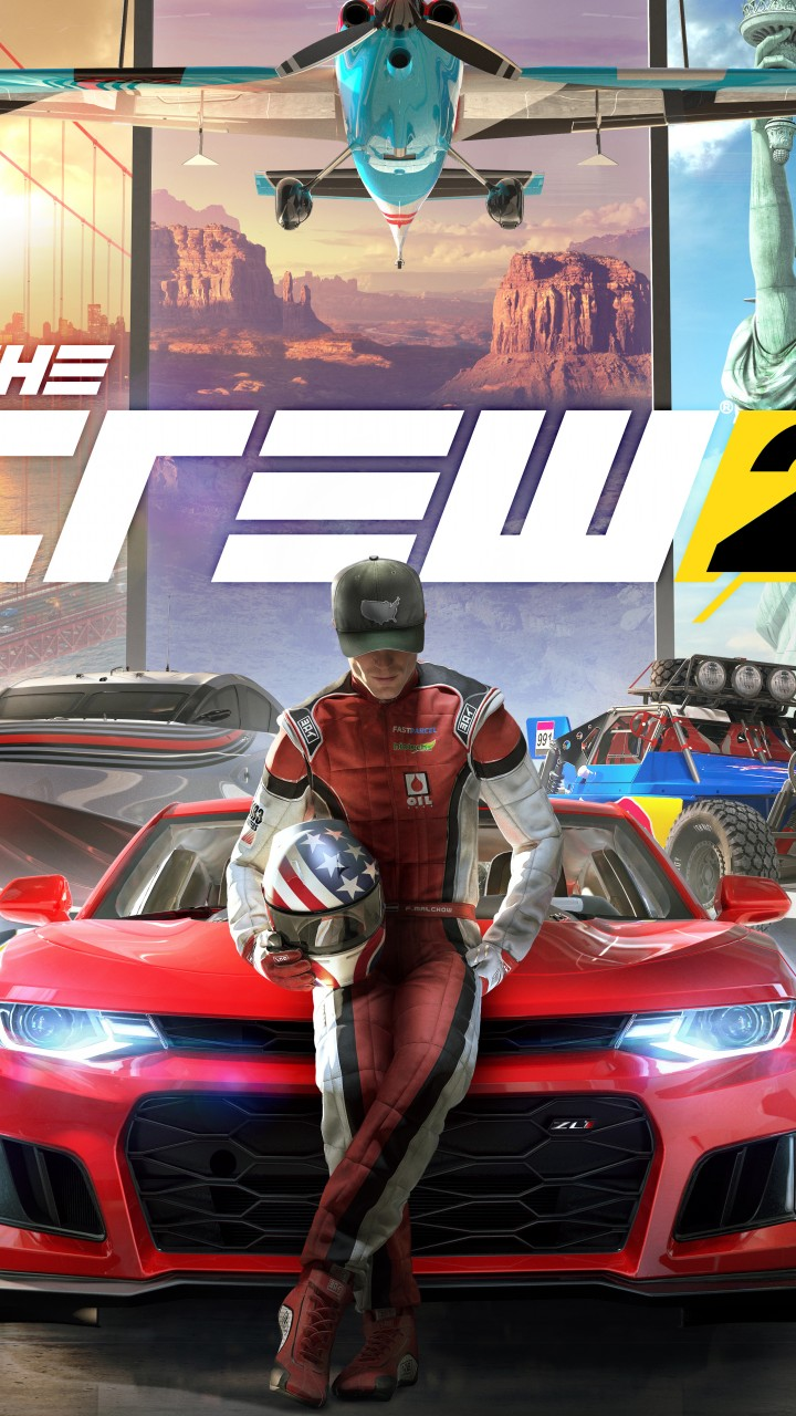 Pictures Of Cool Cars >> Wallpaper The Crew 2, poster, 4K, Games #18431