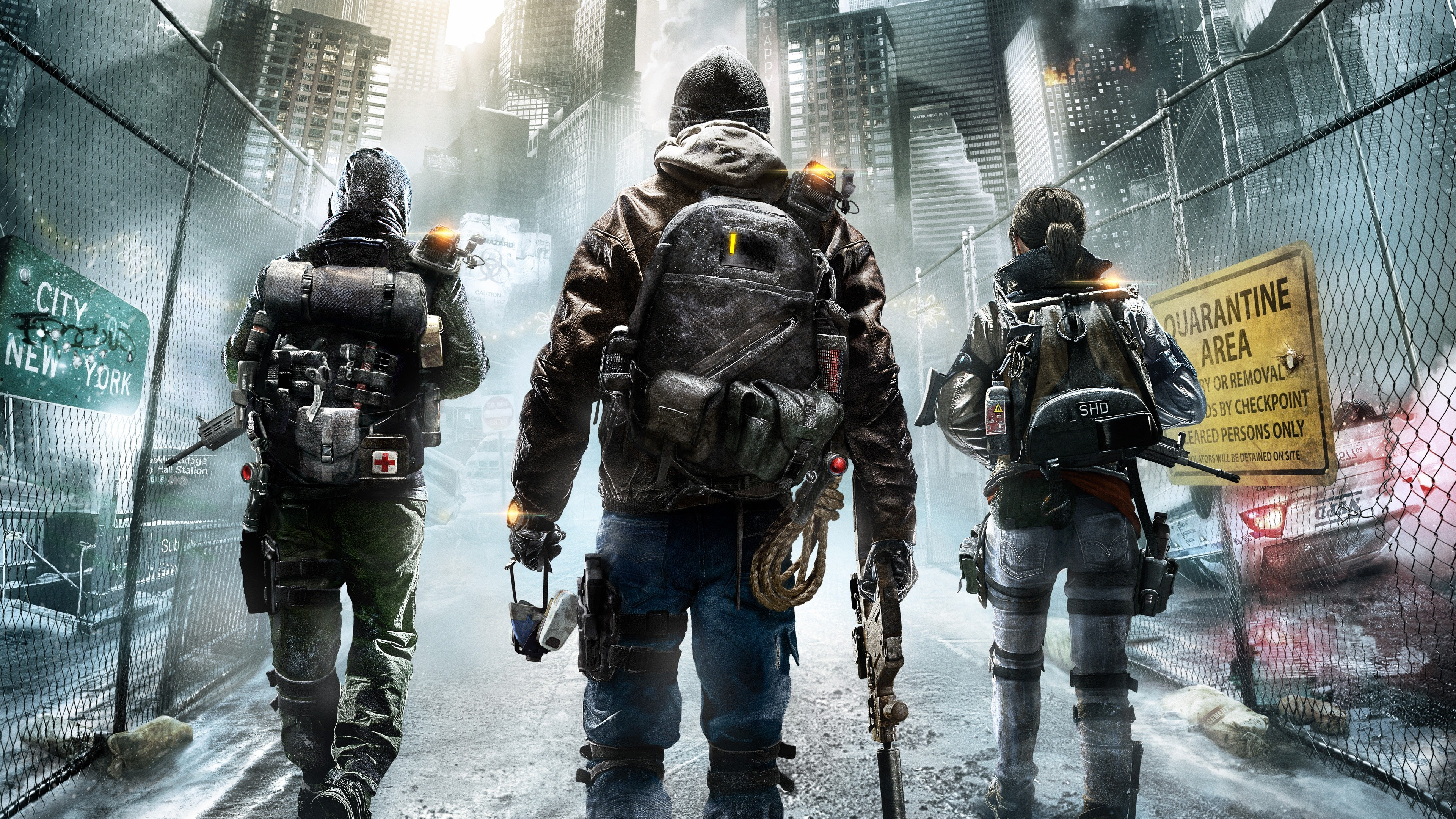 Wallpaper The Division Tom Clancys Game Apocalypse PS4 XBox