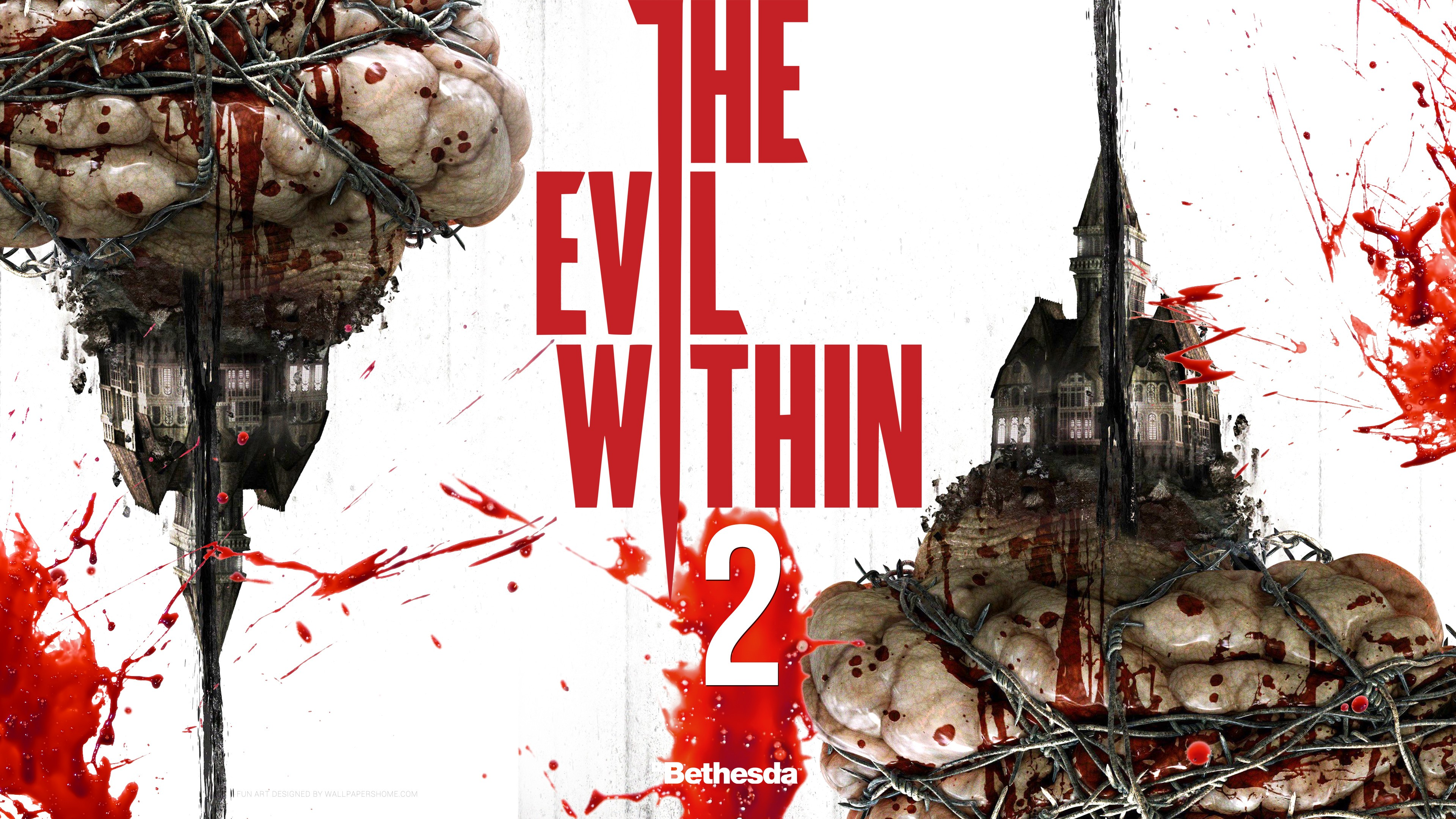 Wallpaper The Evil Within 2 4k Games 12718: Wallpaper The Evil Within 2, 4k, E3 2017, Games #13728