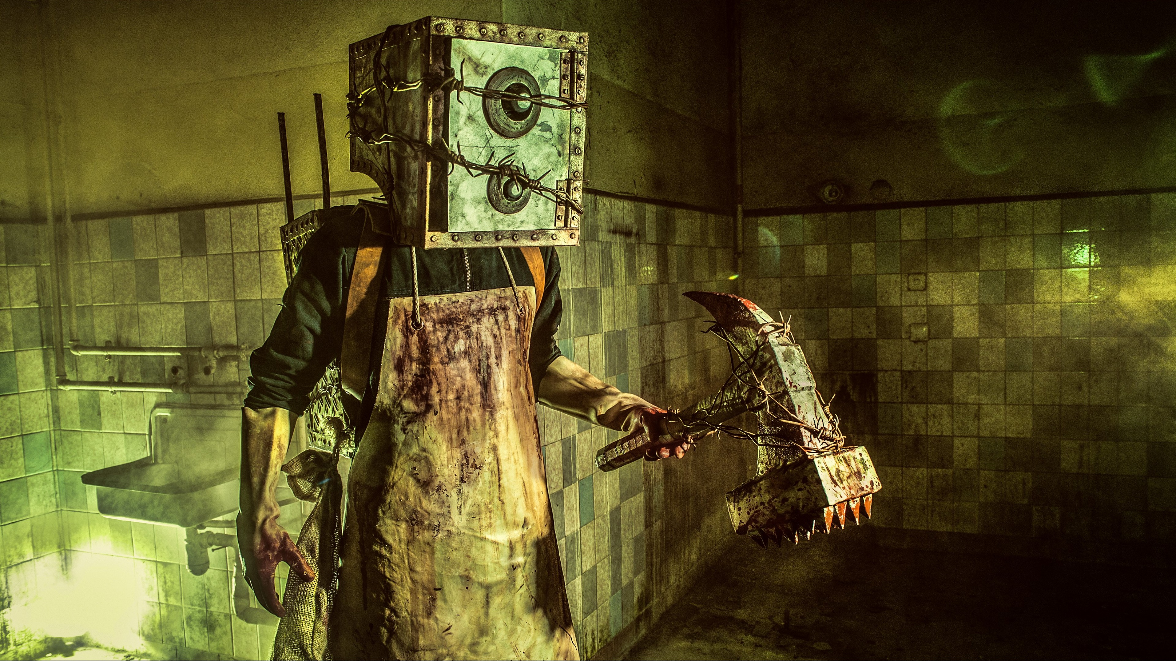 Wallpaper The Evil Within Game Survival Horror