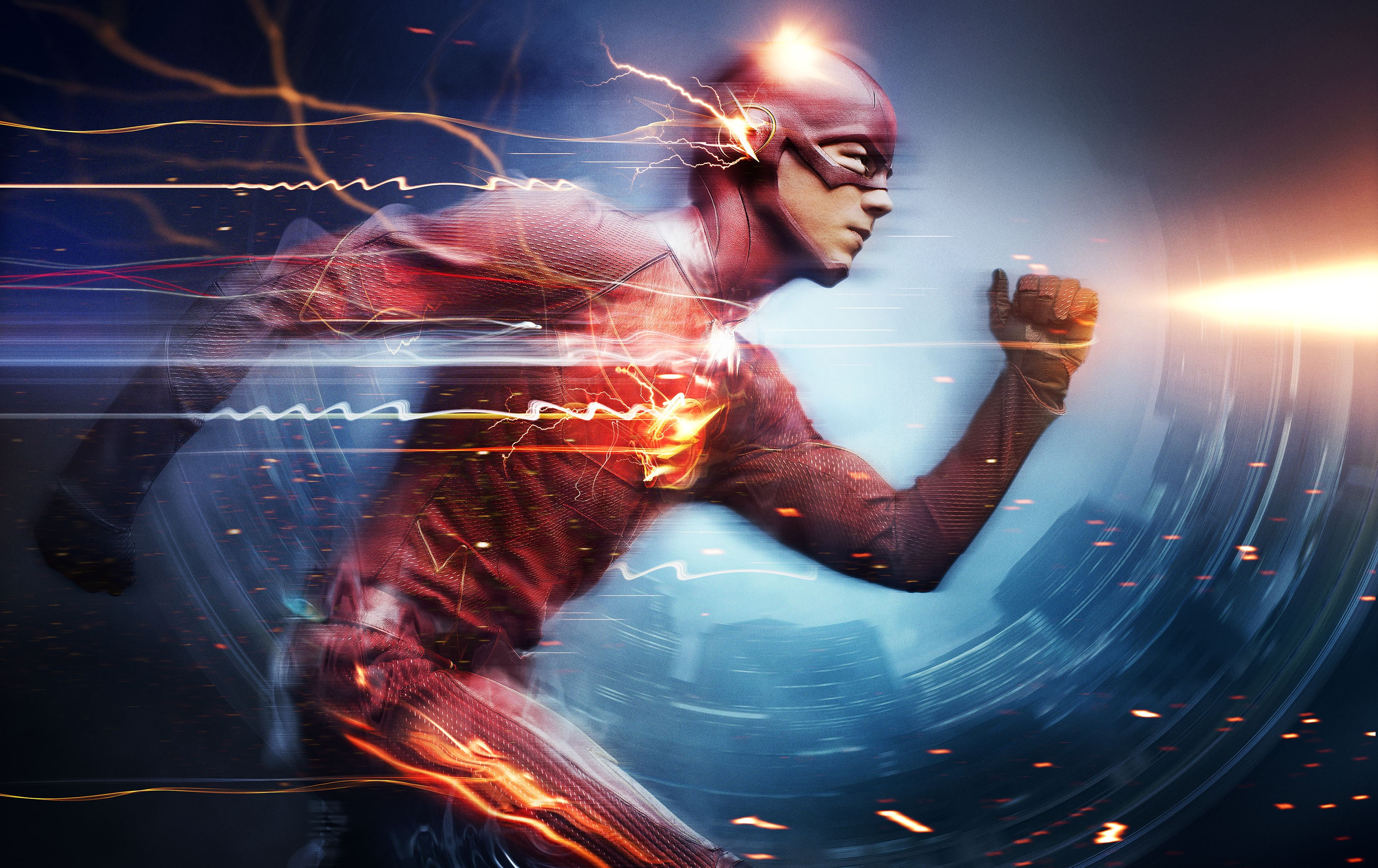 wallpaper the flash, best tv series of 2015, grant gustin, movies #5675