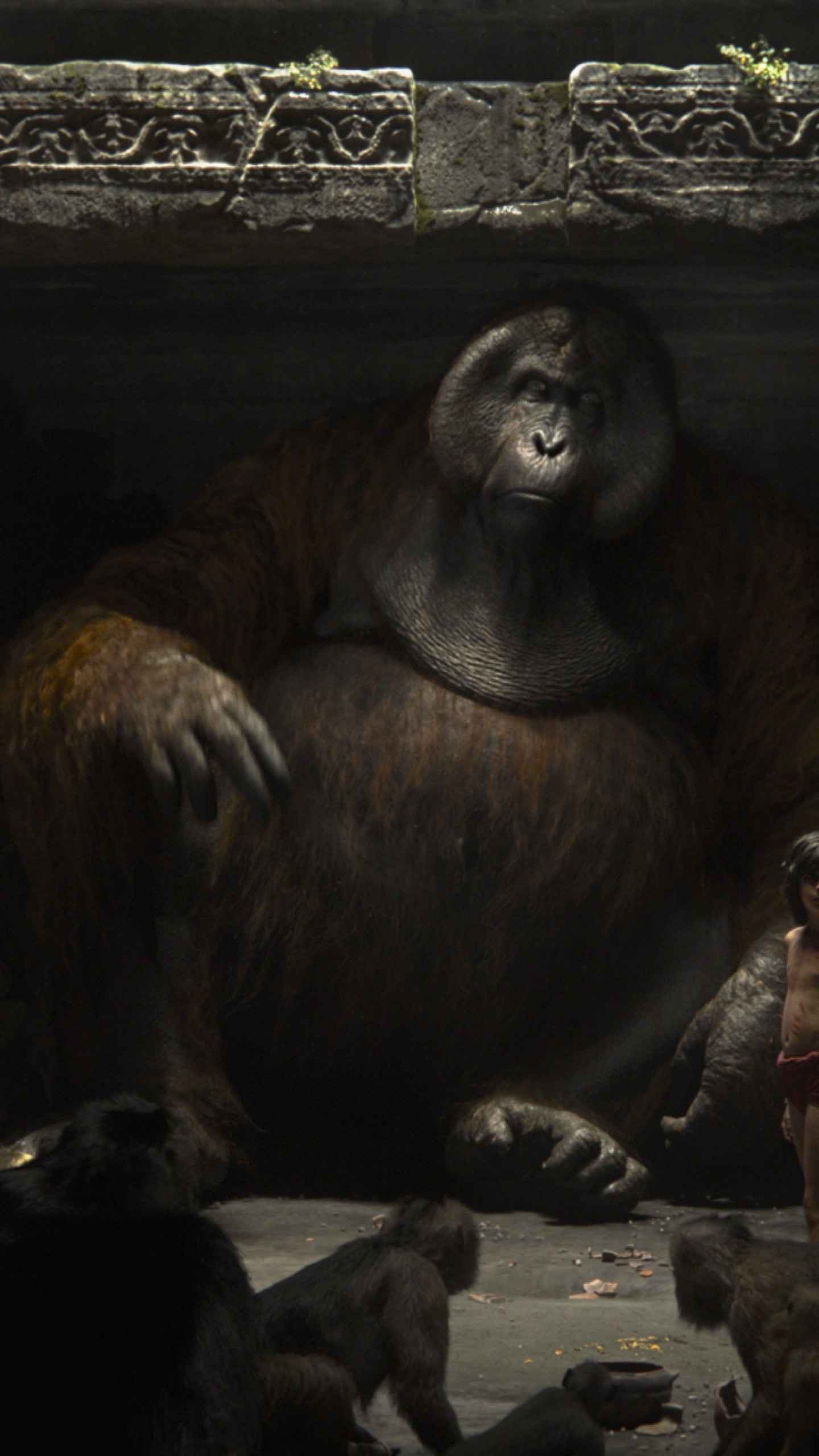 who plays king louie in the jungle book movie