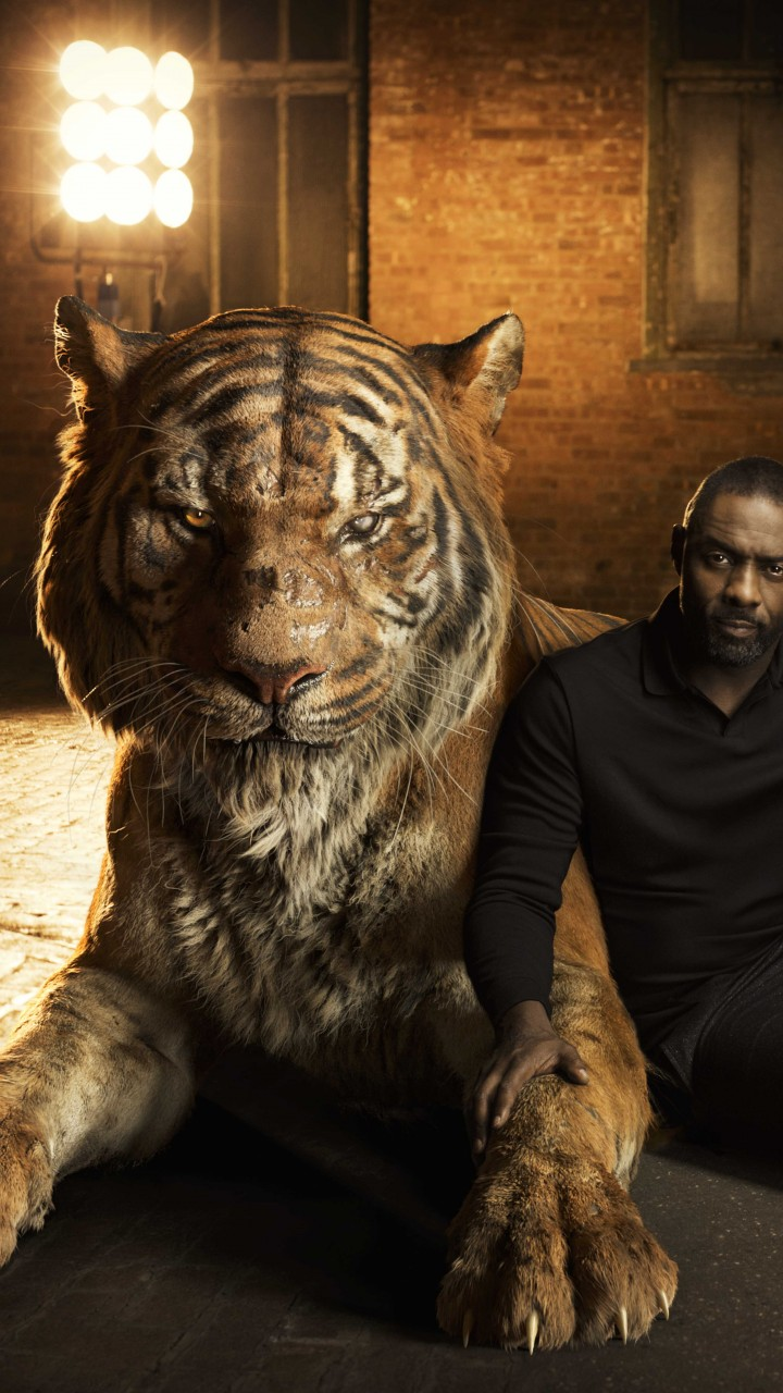 Wallpaper The Jungle Book Idris Elba Shere Khan