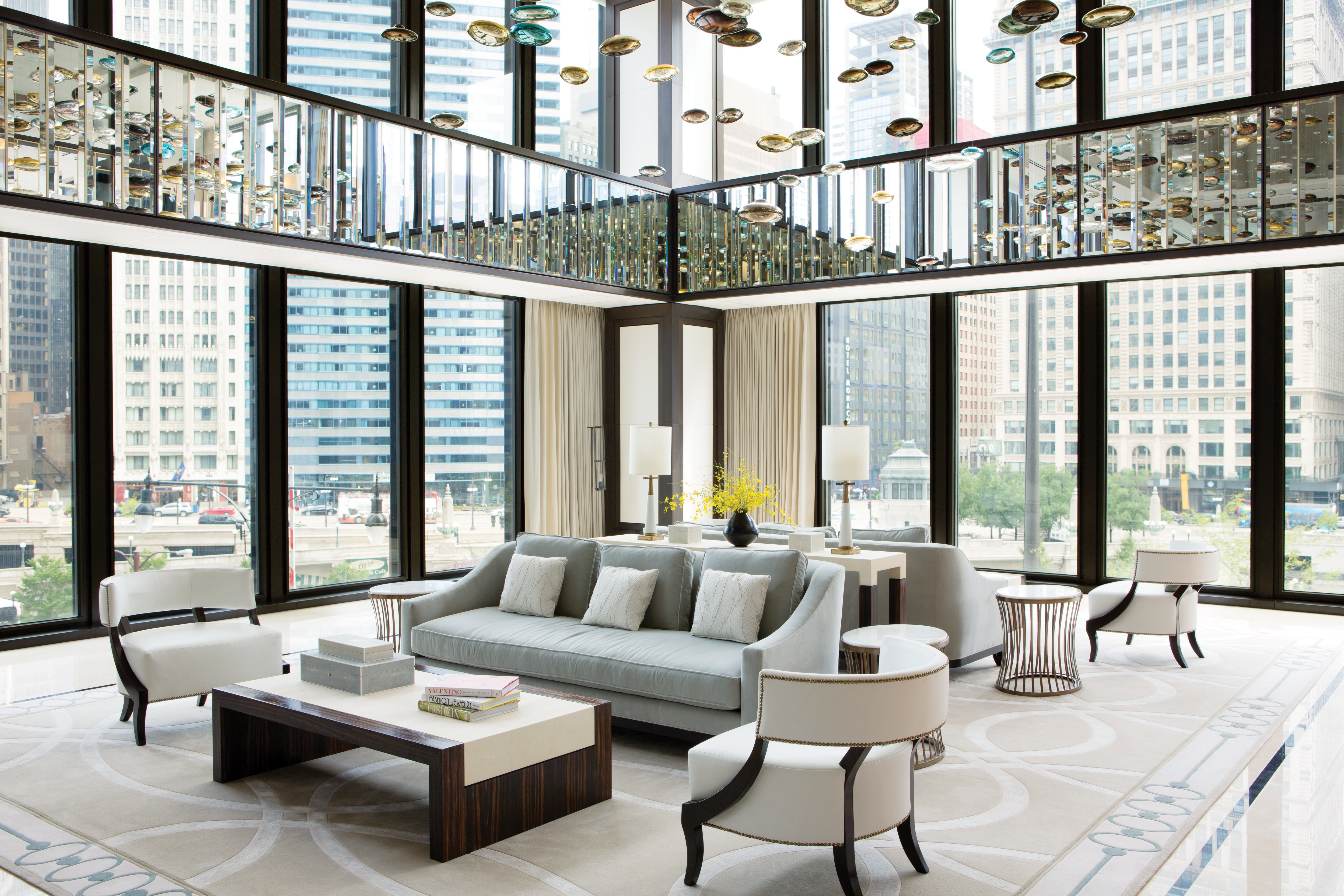 Wallpaper the langham chicago best hotels of 2015 for Wallpaper home usa