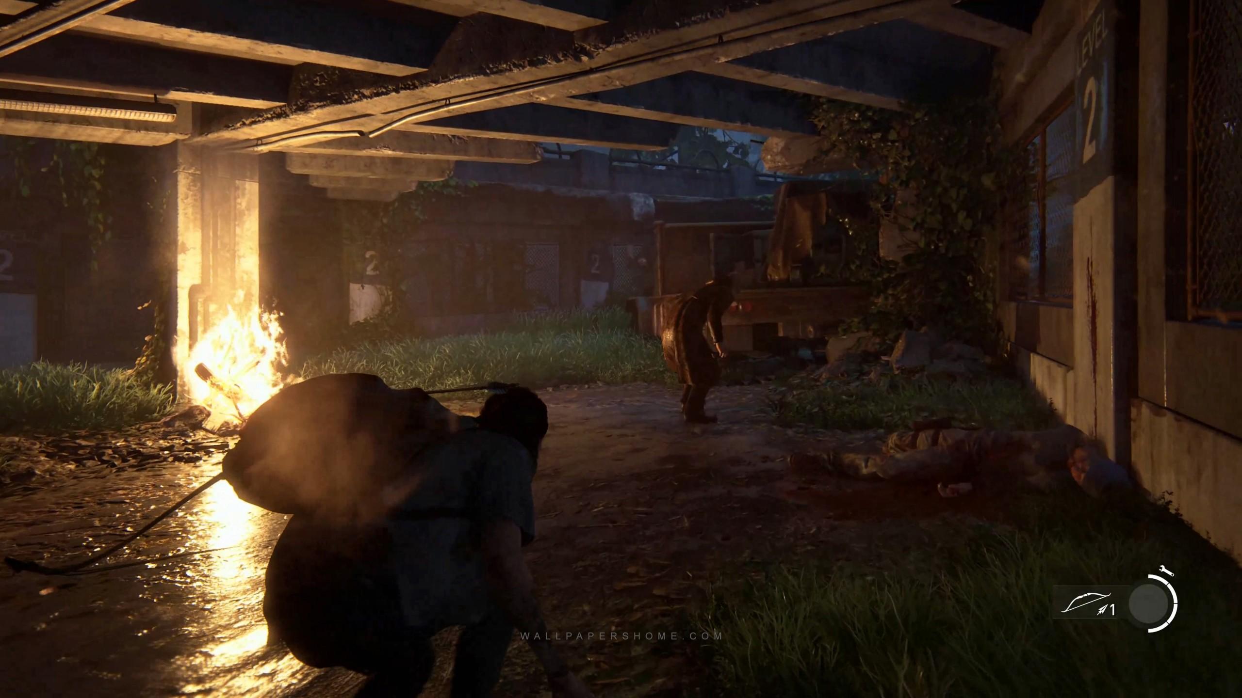 Wallpaper The Last Of Us Part 2 E3 2018 Screenshot