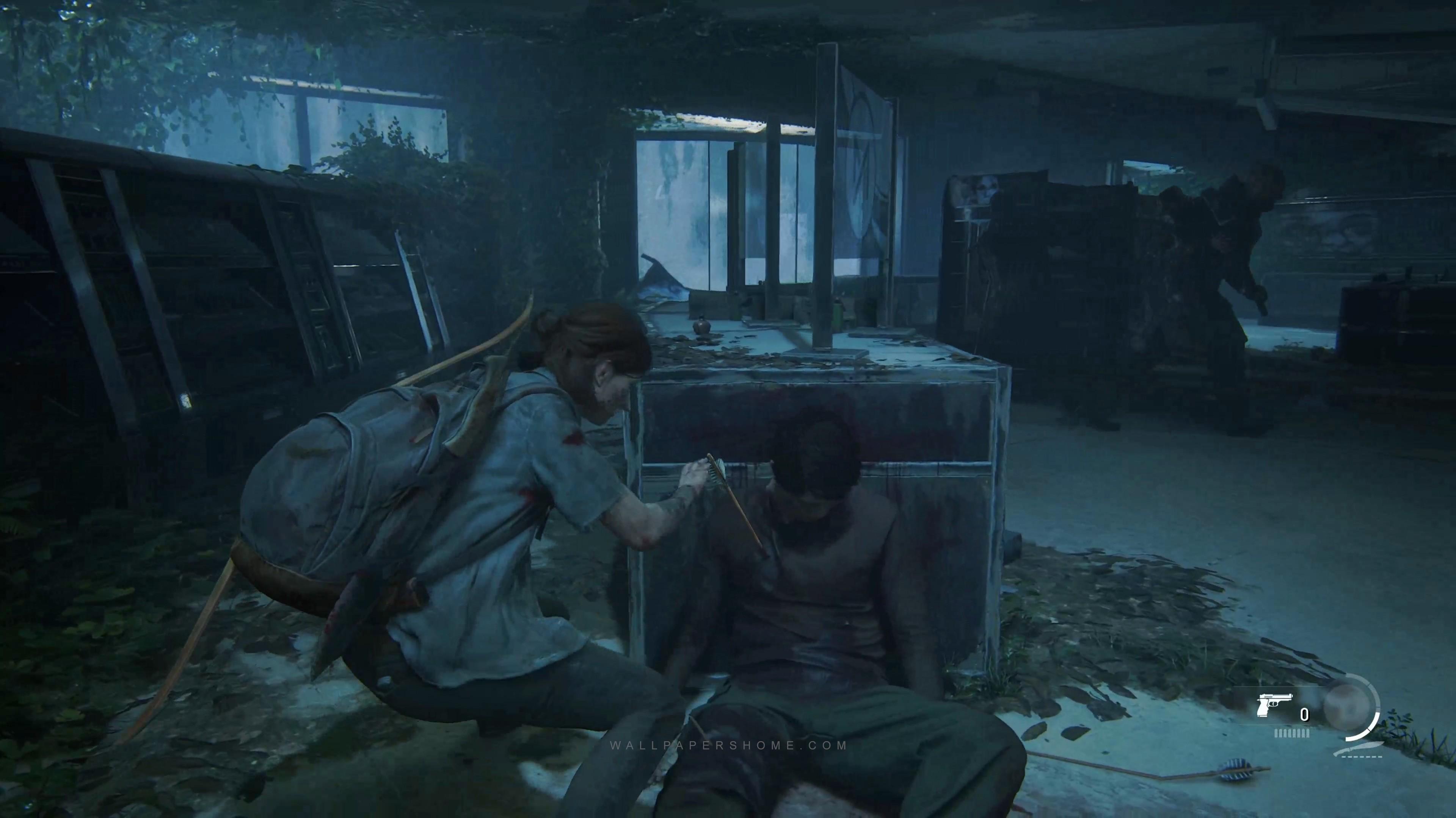 Wallpaper The Last Of Us Part 2 E3 2018 Screenshot Games 19080