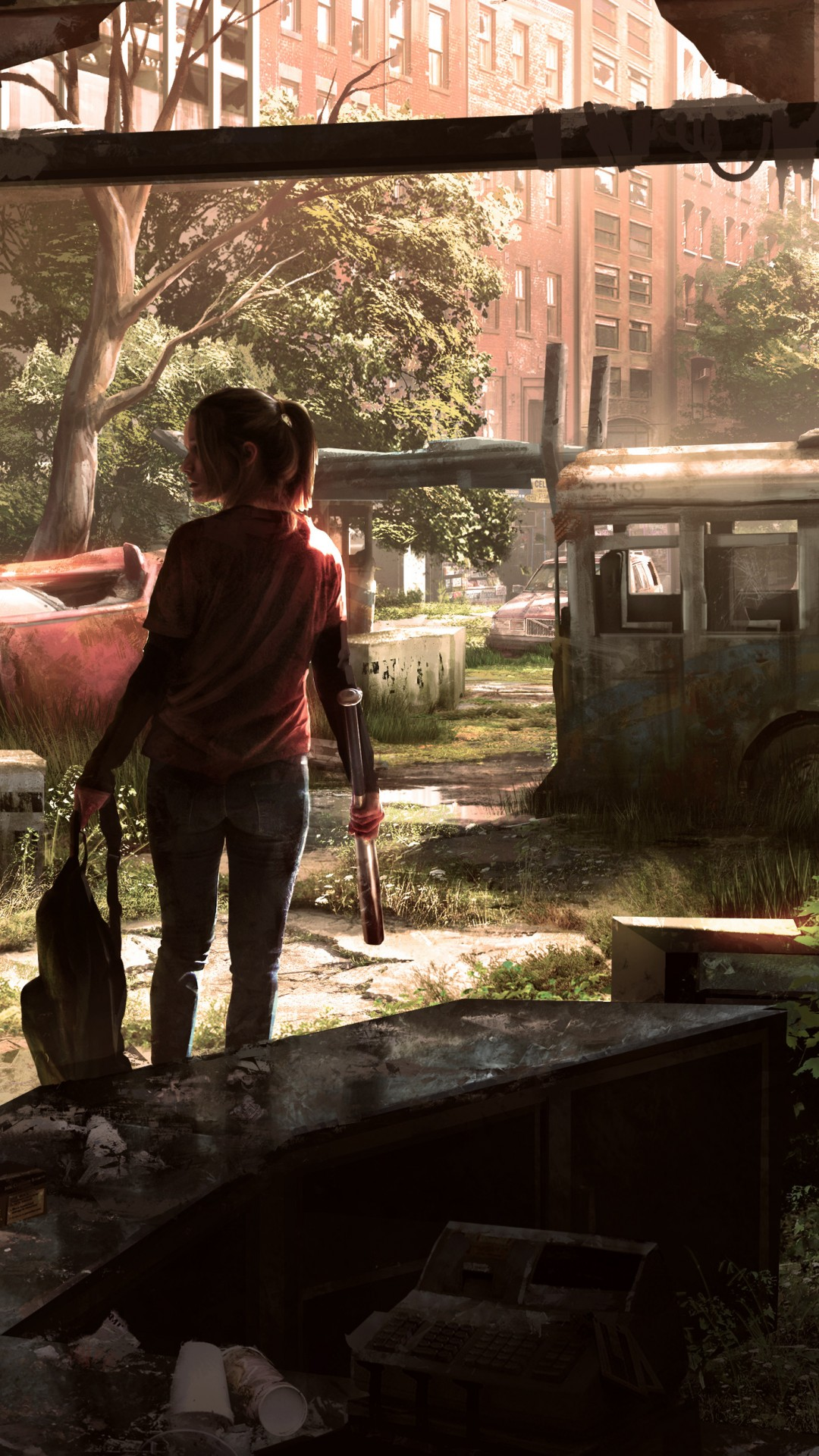 Wallpaper The Last Of Us Remastered Game Survival Horror