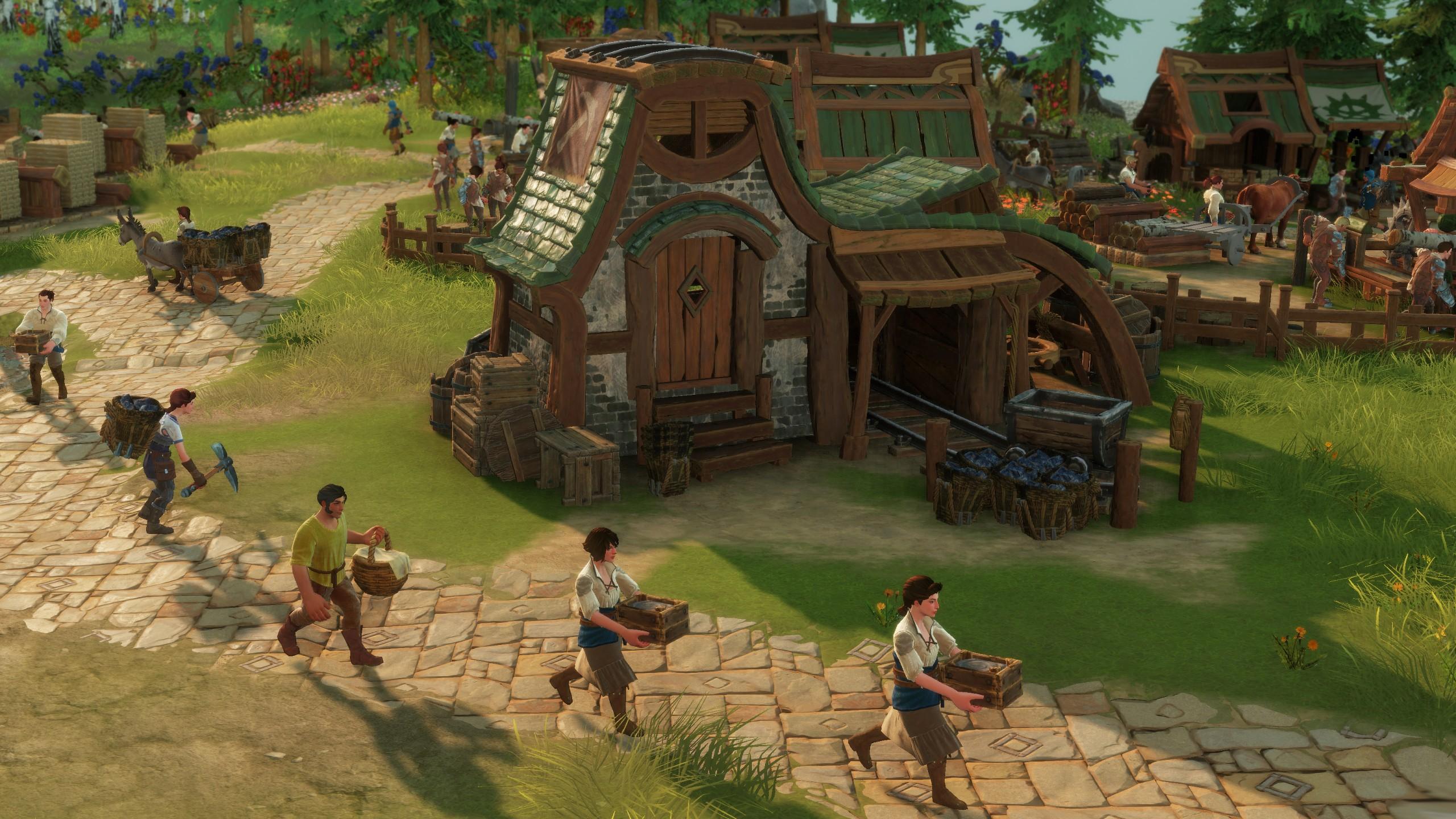 Wallpaper The Settlers 2019 Gamescom 2018 Screenshot 4k