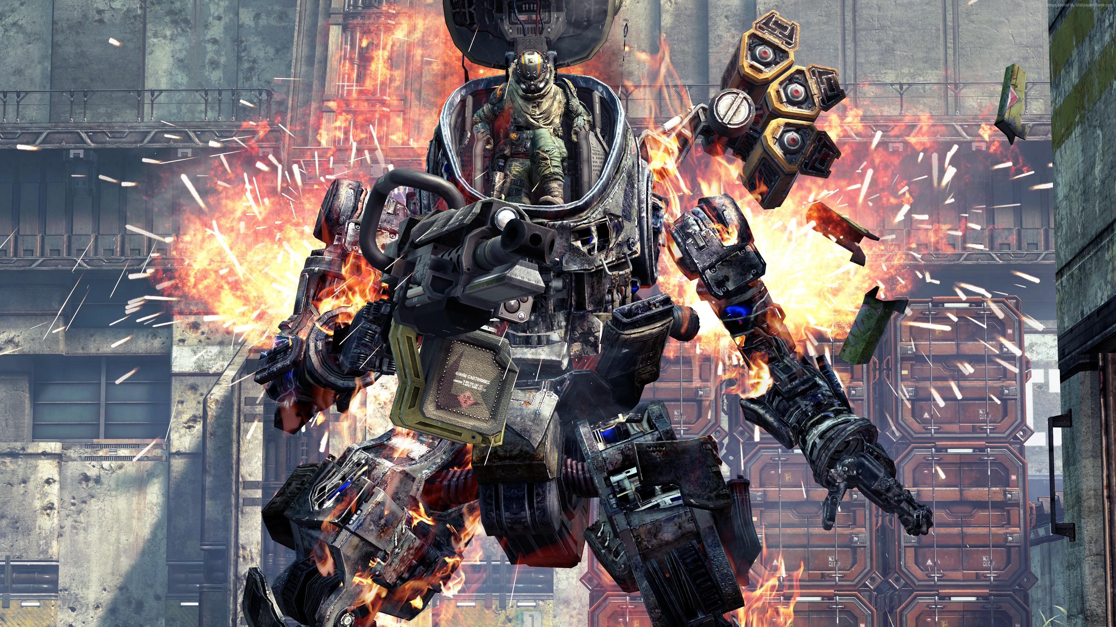 War Robot Games Titanfall Game Shooter War