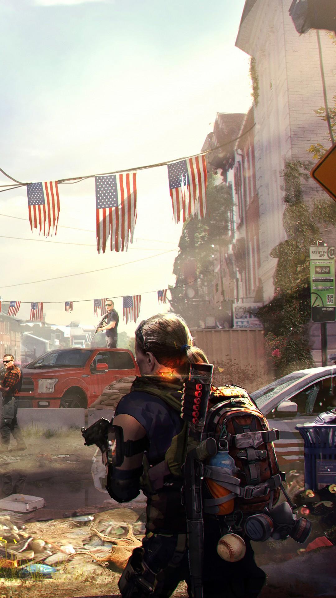 Wallpaper Tom Clancy S The Division 2 E3 2018 Artwork