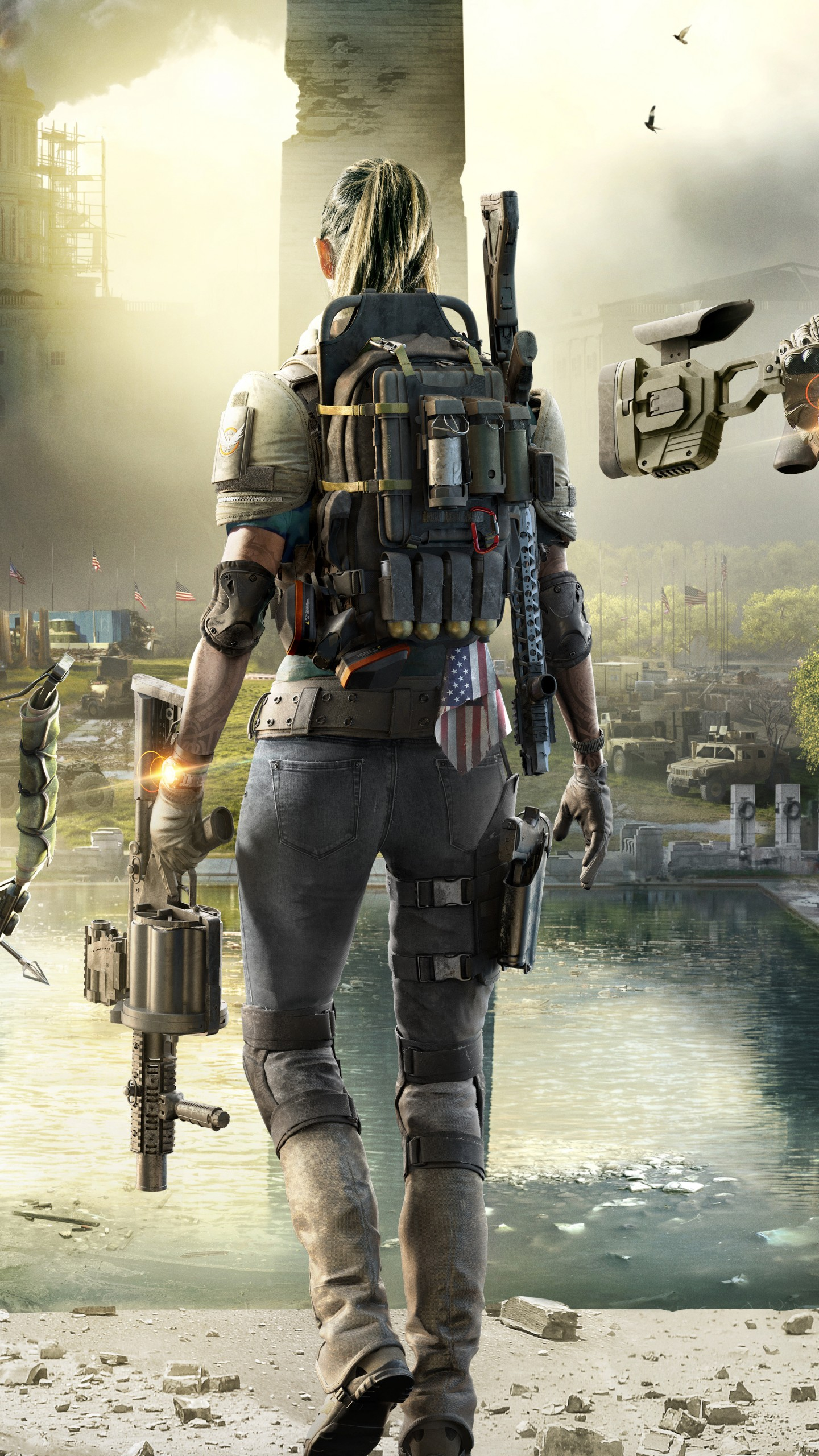Wallpaper Tom Clancy's The Division 2, E3 2018, poster, 4K ...