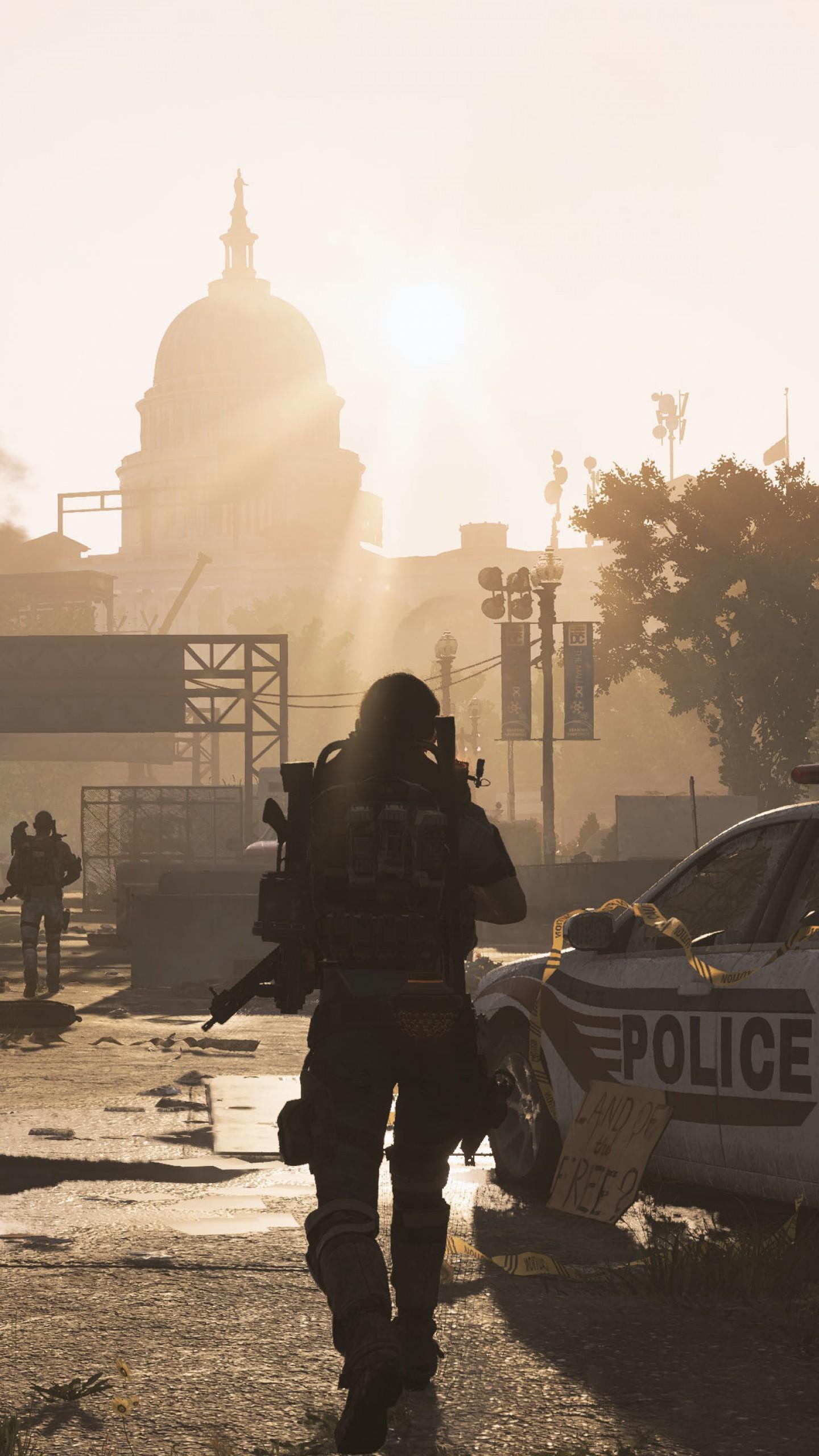 Wallpaper Tom Clancy's The Division 2, E3 2018, screenshot