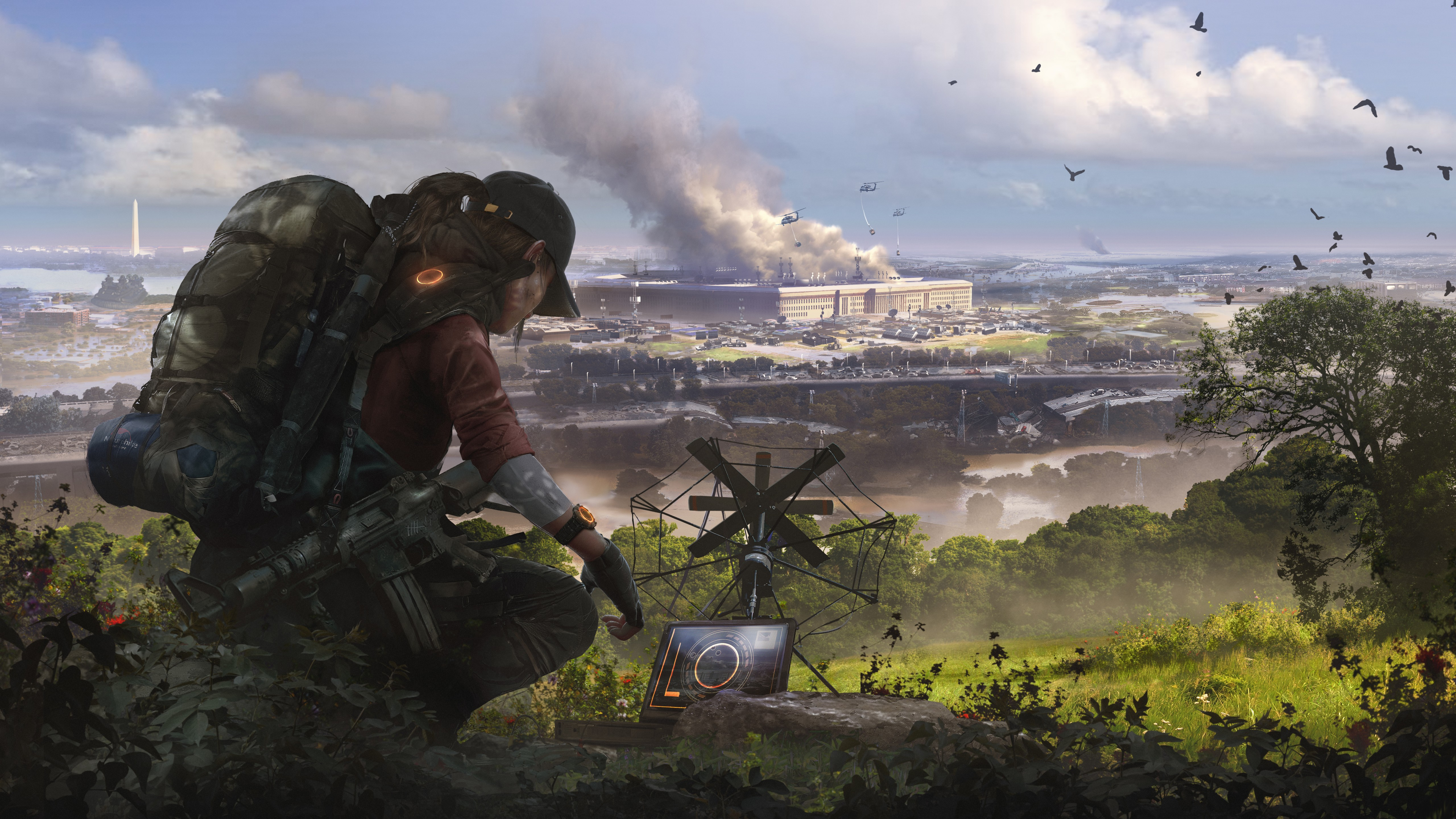 Wallpaper Tom Clancy S The Division 2 Episodes E3 2019