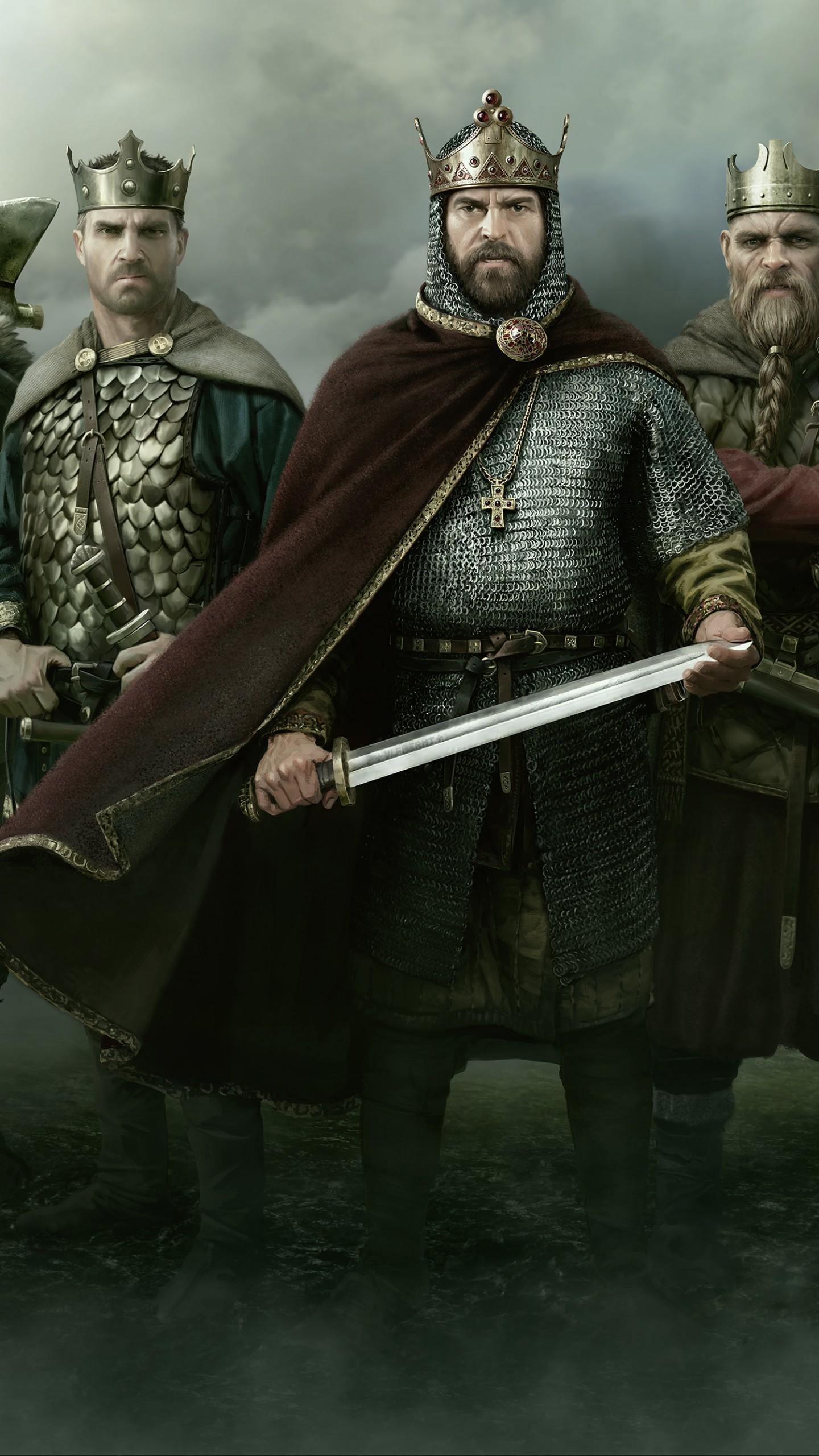 Wallpaper Total War Saga Thrones of Britannia, poster, 4K ...