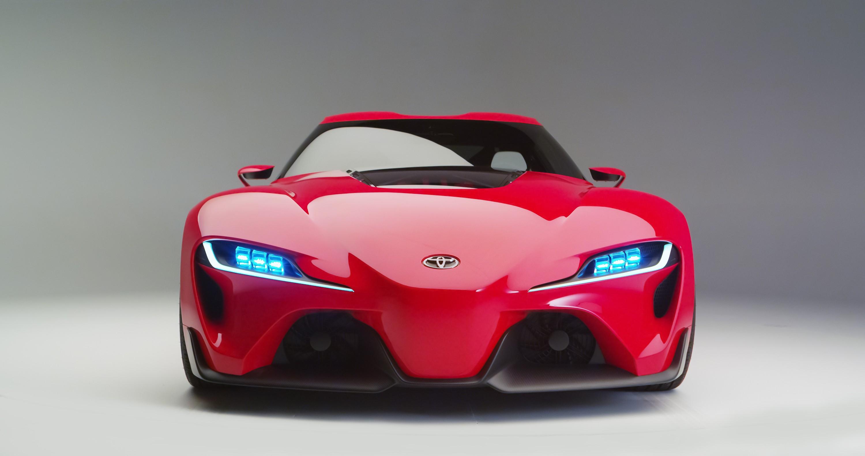 Wallpaper Toyota FT-1, hypercar, supercar, Cars & Bikes #10380