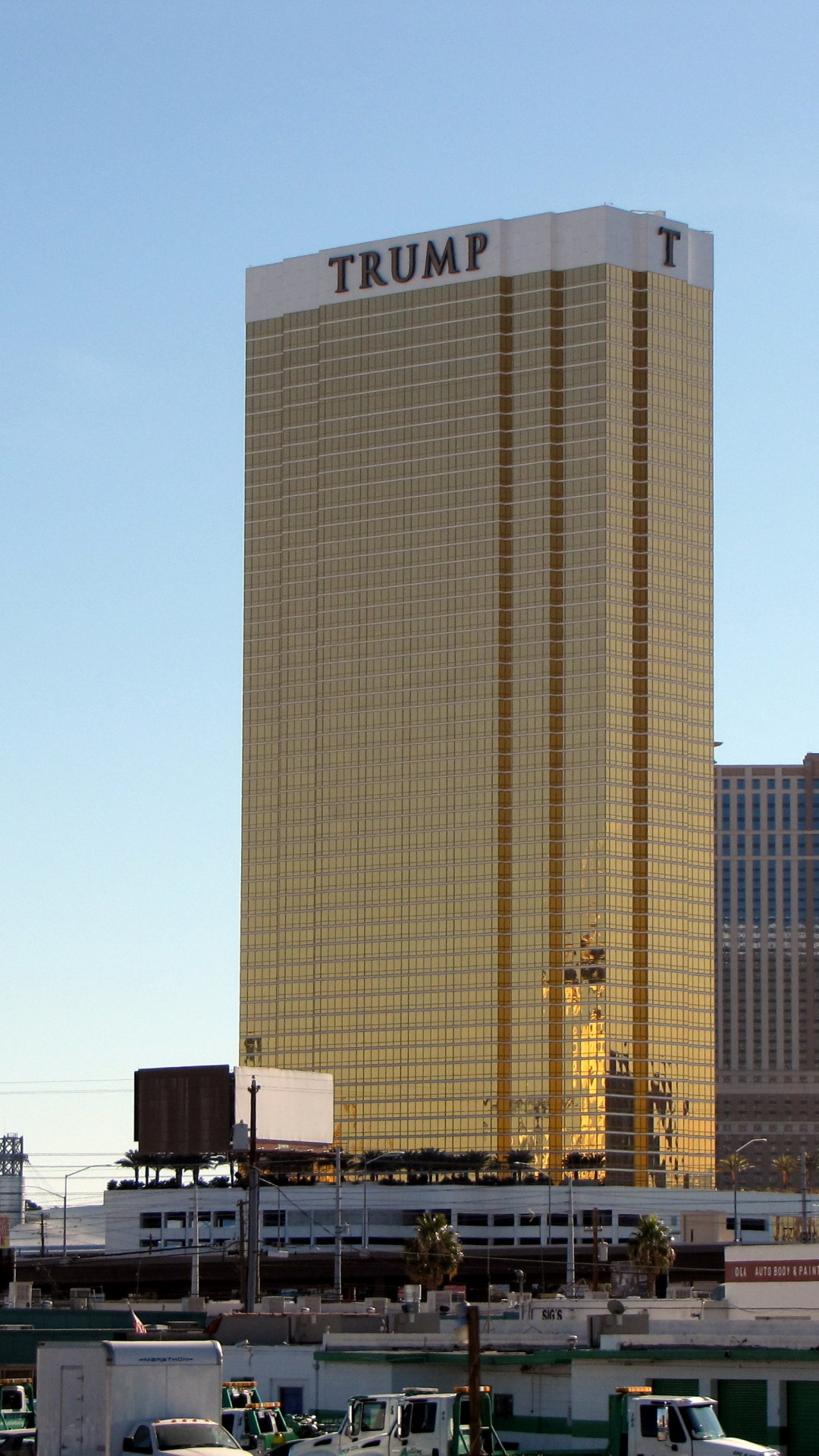 Wallpaper Trump Hotel Las Vegas Usa Architecture 12530
