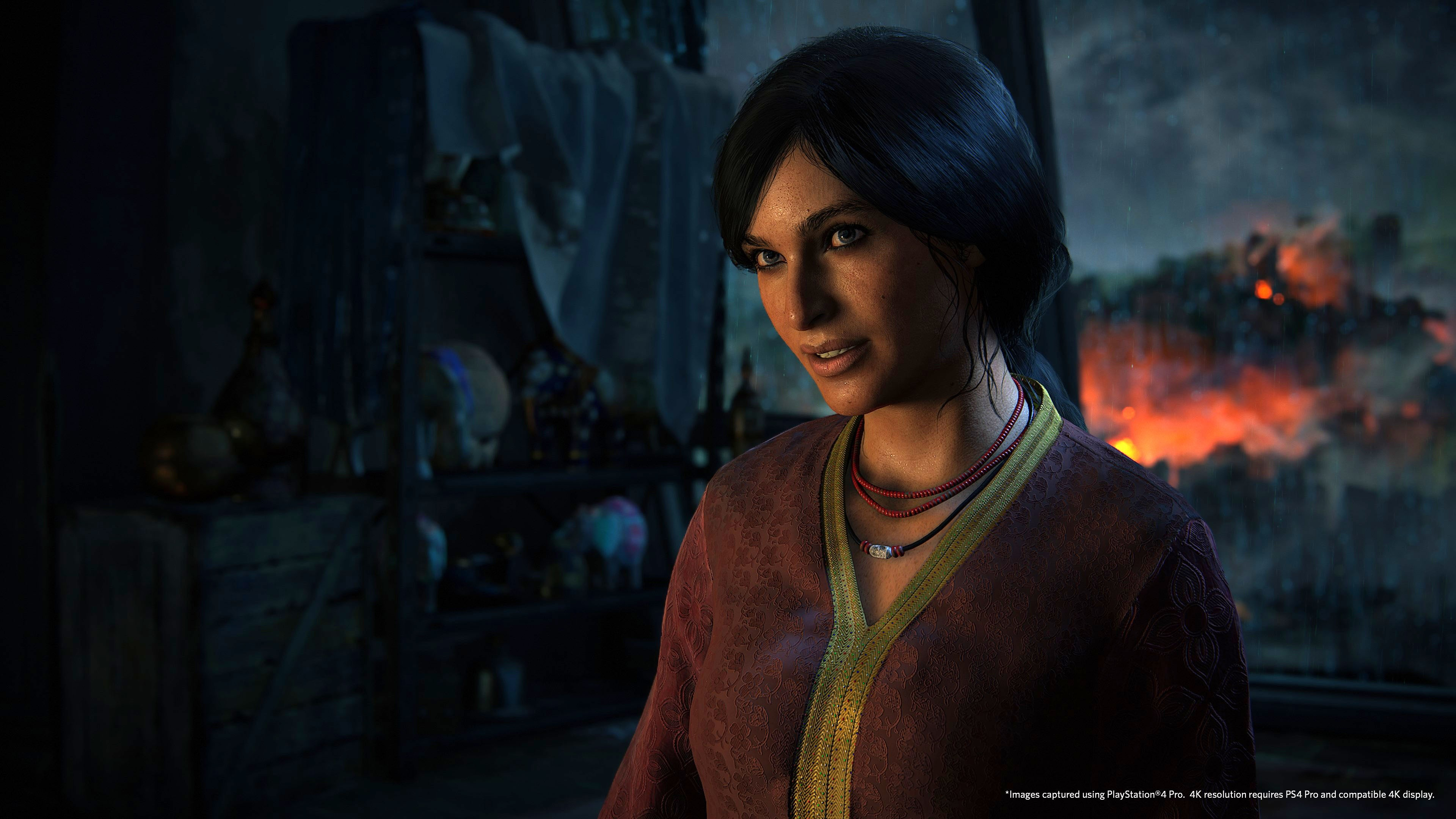 Uncharted Lost Legacy Wallpaper: Wallpaper Uncharted: The Lost Legacy, 4k, PS4 Pro