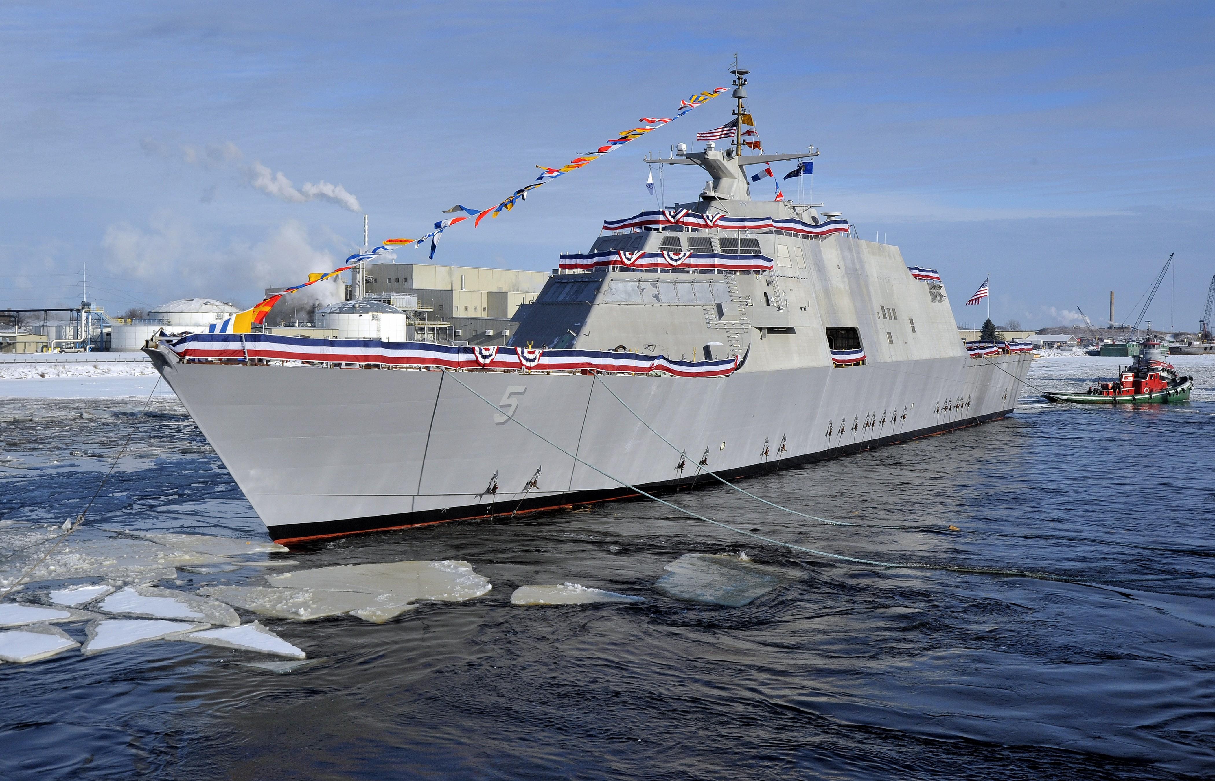 Wallpaper Uss Milwaukee Lcs 5 Lead Ship Freedom Class