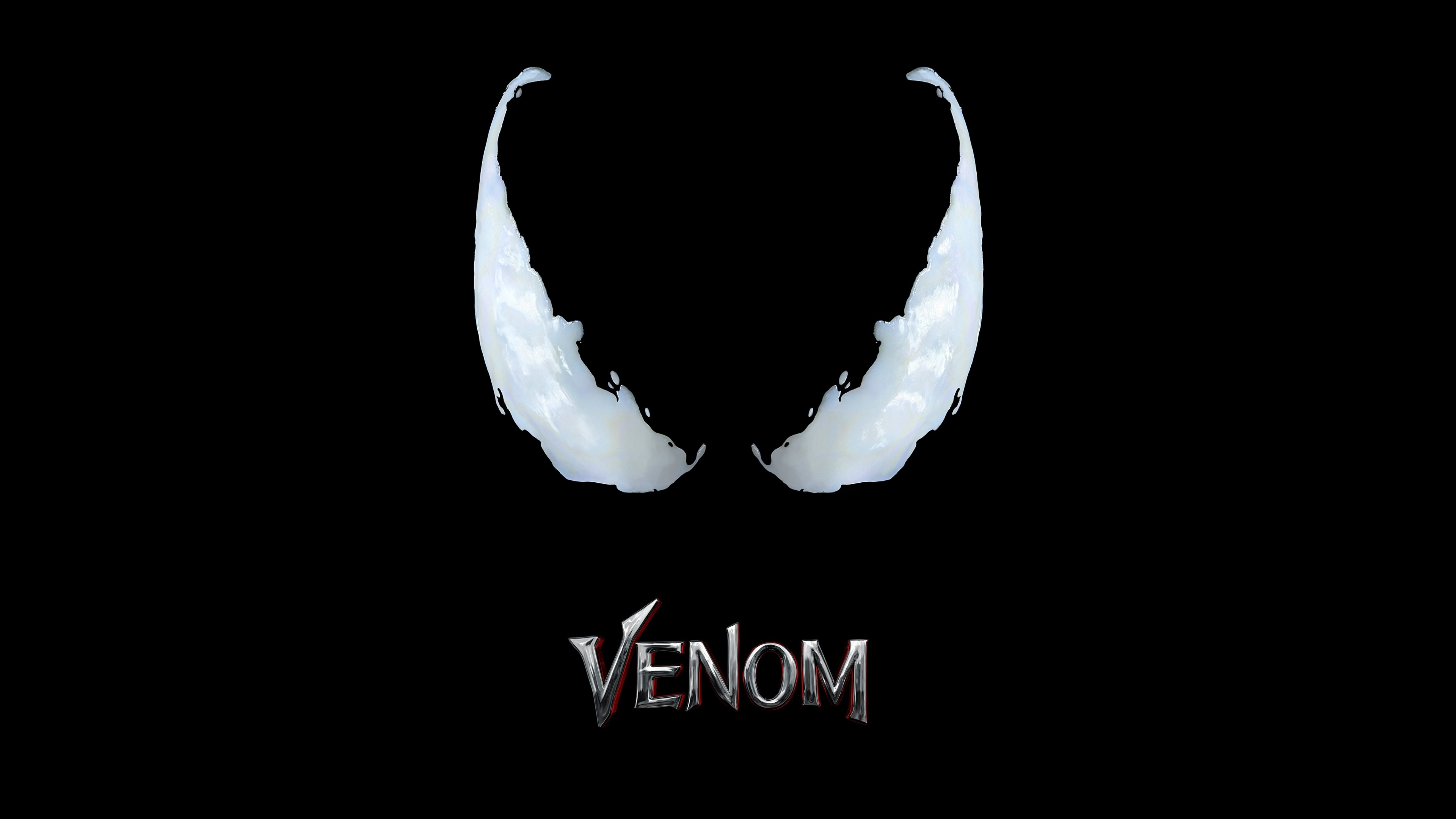 wallpaper venom  poster  8k  movies  17493