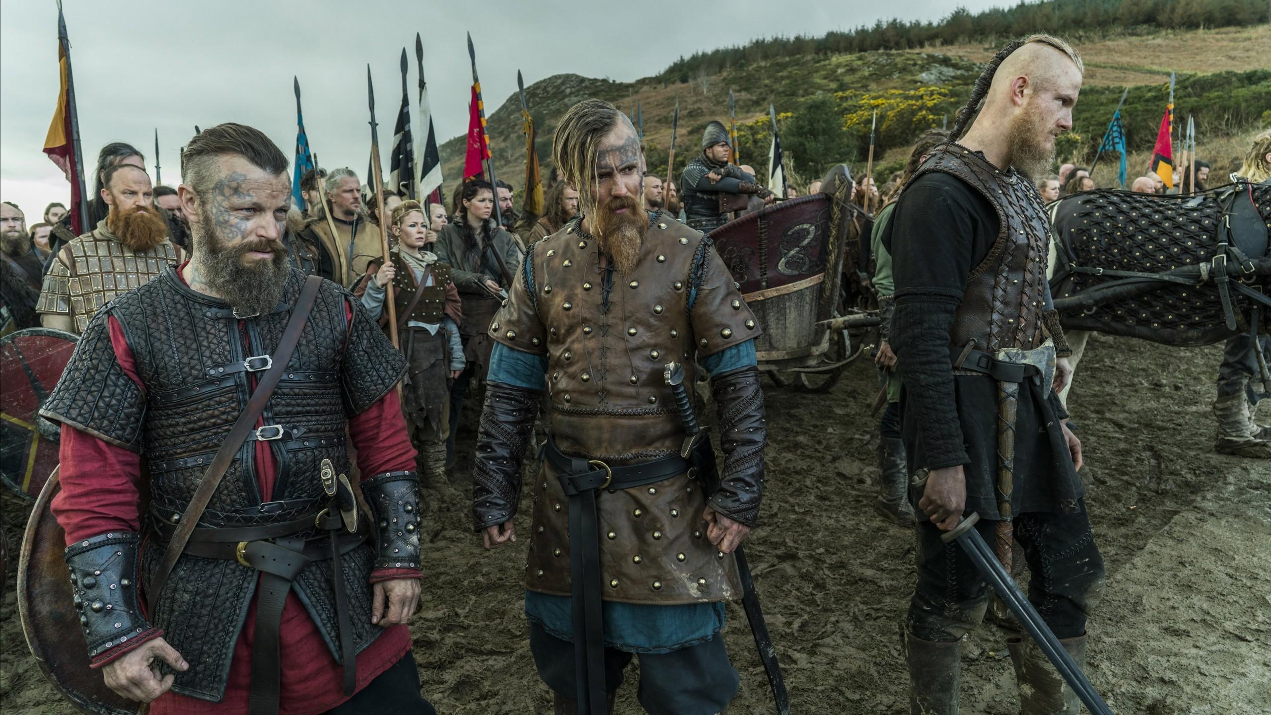 Wallpaper Vikings Season 5 Travis Fimmel Katheryn Winnick 4k 5k Movies 18085