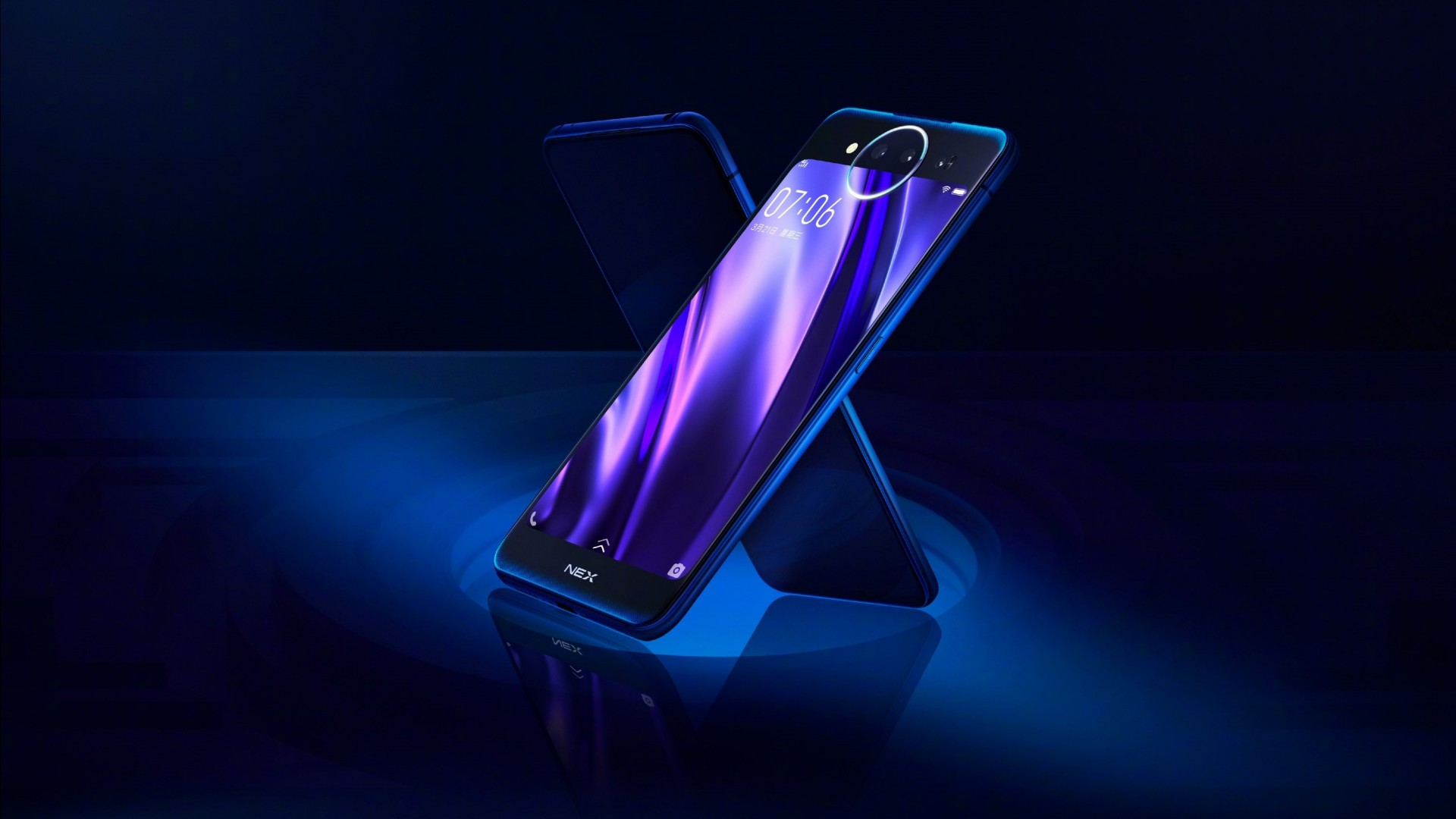 Wallpaper Vivo NEX Dual Display Edition, HD, Hi-Tech #20996