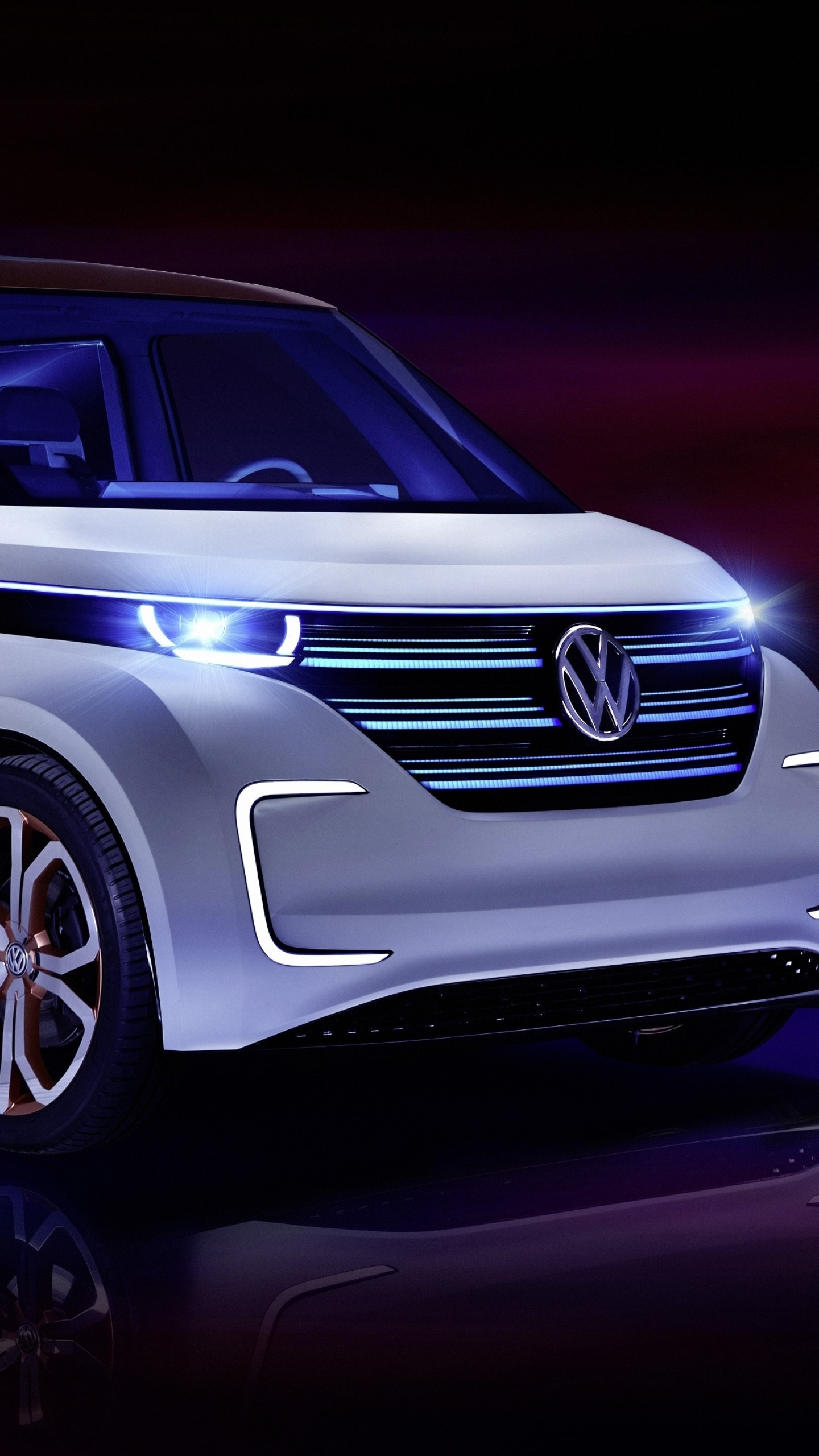 Wallpaper Volkswagen BUDD e, CES 2016, electric, electric ...