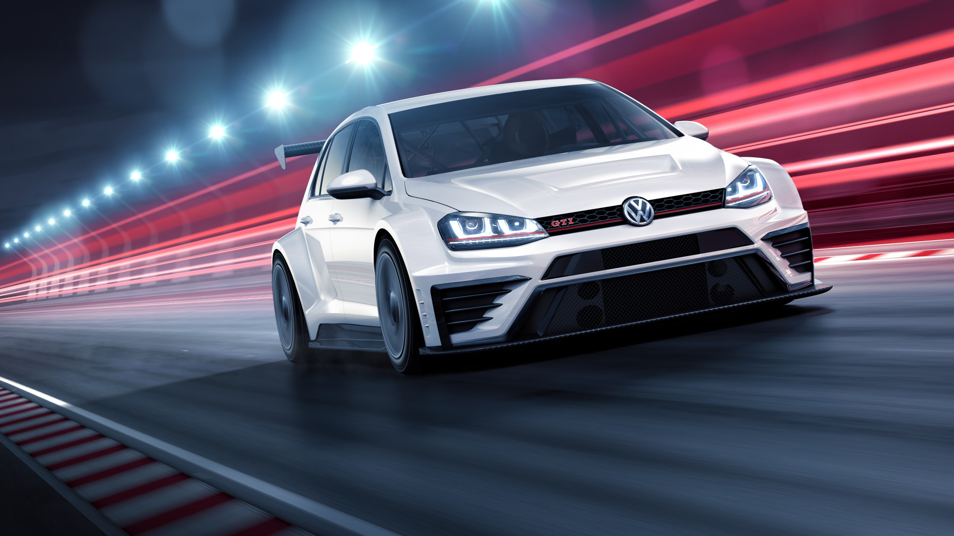 New Golf R >> Wallpaper Volkswagen Golf GTI TCR, racecar, white, Cars ...