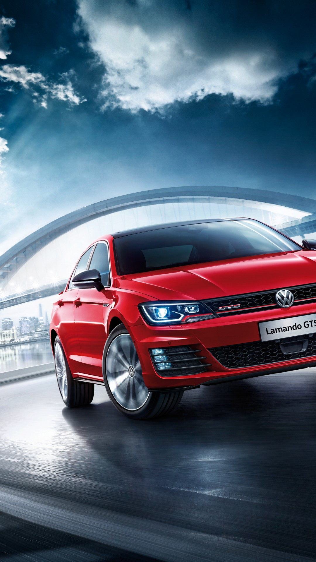 Wallpaper Volkswagen Lamando Gts Beijing Motor Show 2016