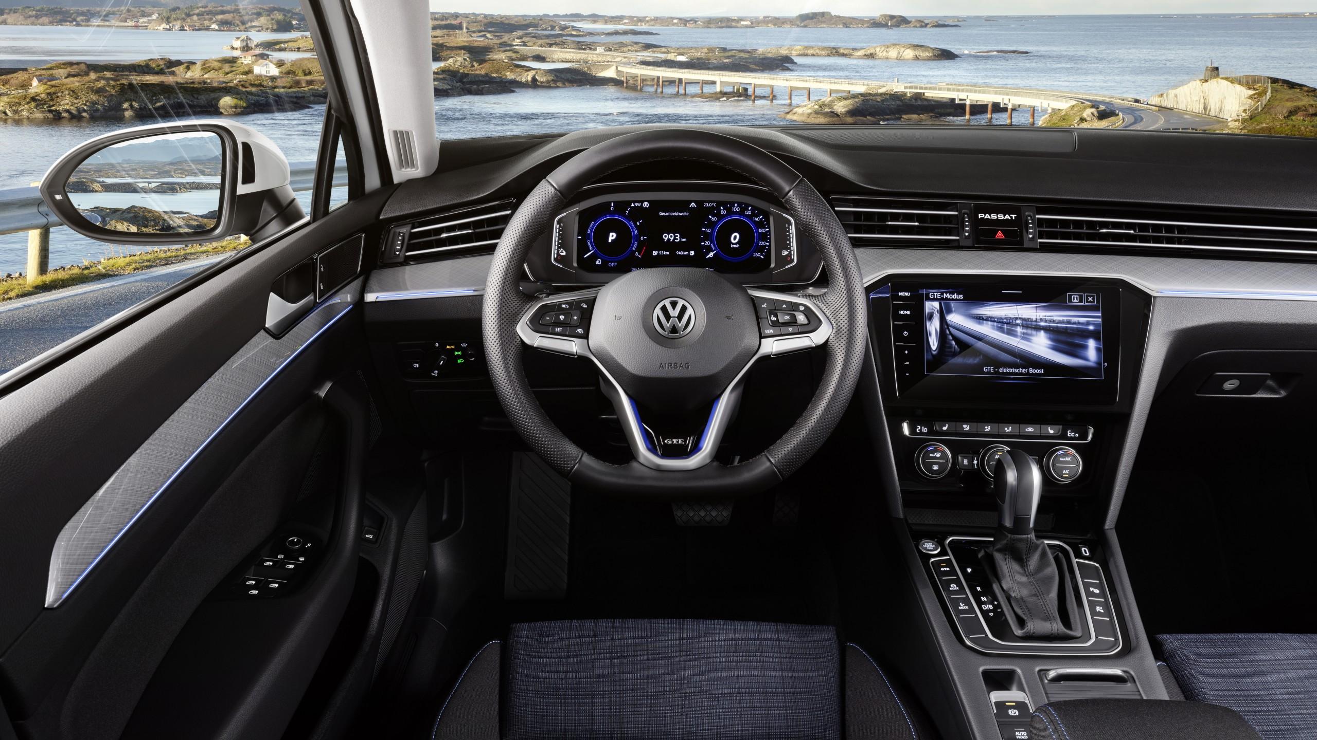 Wallpaper Volkswagen Passat Gte 2020 Cars 5k Cars