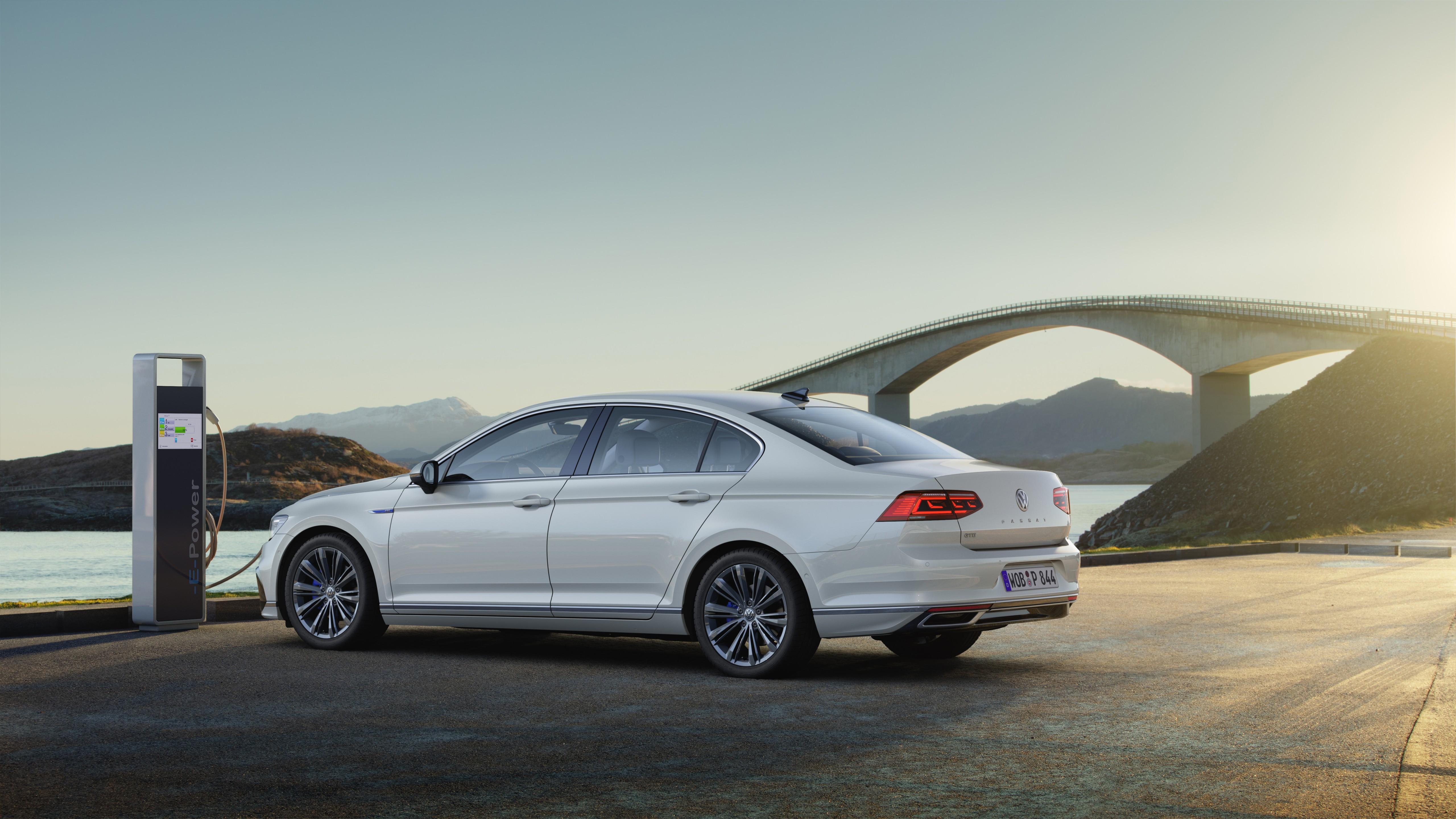 Wallpaper Volkswagen Passat GTE, 2020 Cars, 5K, Cars ...