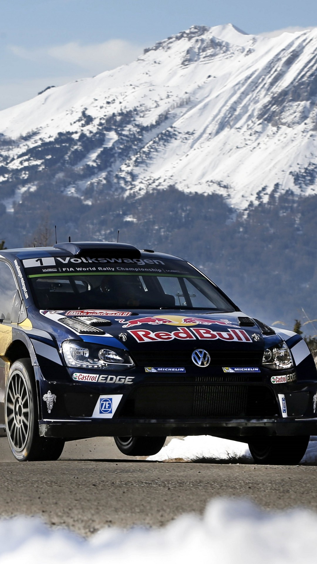 Wallpaper Volkswagen Polo R Wrc Wrc Mexico 2016 Cars