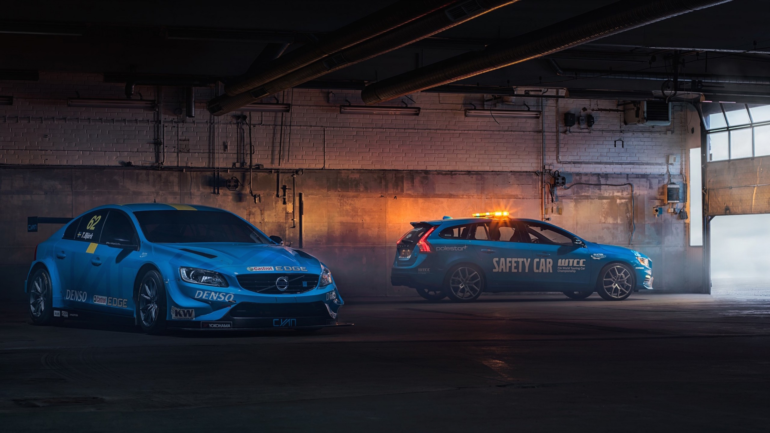 Wallpaper Volvo V60 Polestar, WTCC Safety Car, Cars ...