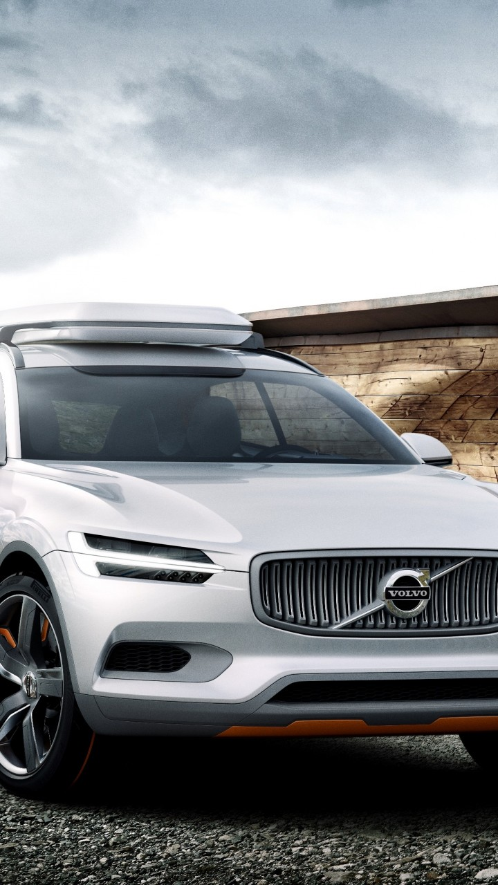 wallpaper volvo xc concept crossover volvo suv hybrid luxury cars review test drive