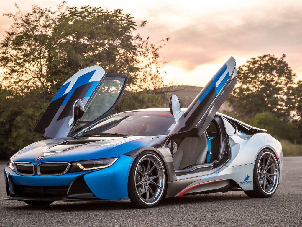 vorsteiner vr e bmw i8 wallpaper cars bikes vorsteiner vr e bmw i8 supercar sport cars blue. Black Bedroom Furniture Sets. Home Design Ideas