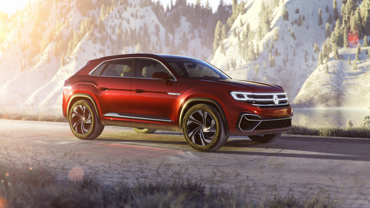 wallpaper vw atlas cross sport suv cars  cars bikes
