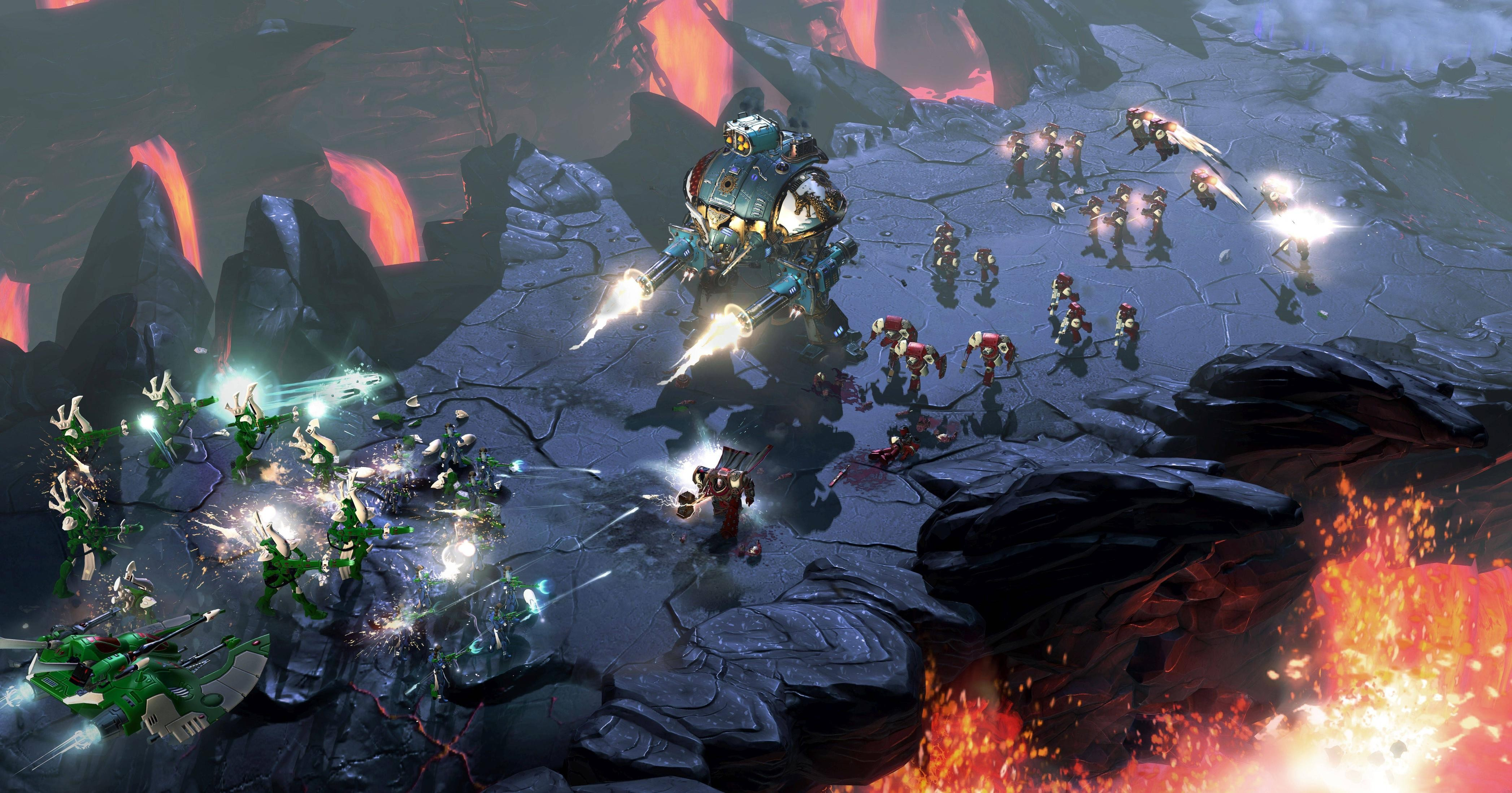 wallpaper warhammer 40k  dawn of war 3  best games  games