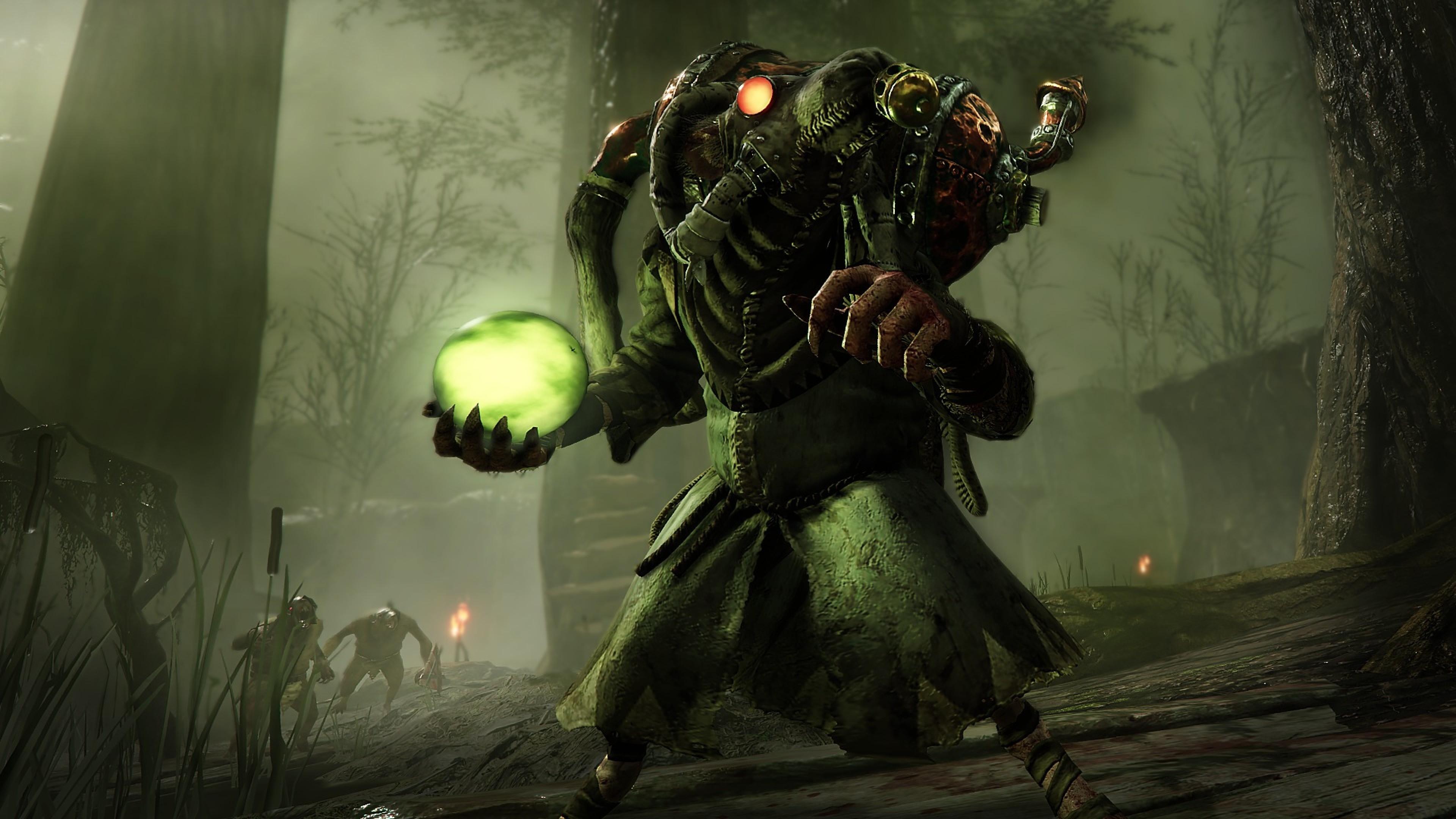 Wallpaper Warhammer Vermintide 2 Screenshot 4k Games