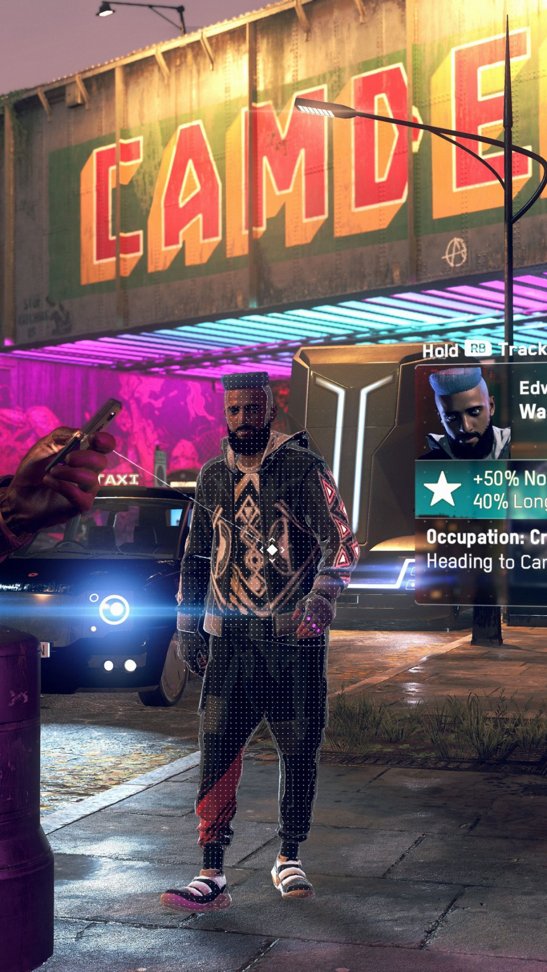 Wallpaper Watch Dogs Legion E3 2019 screenshot 4K