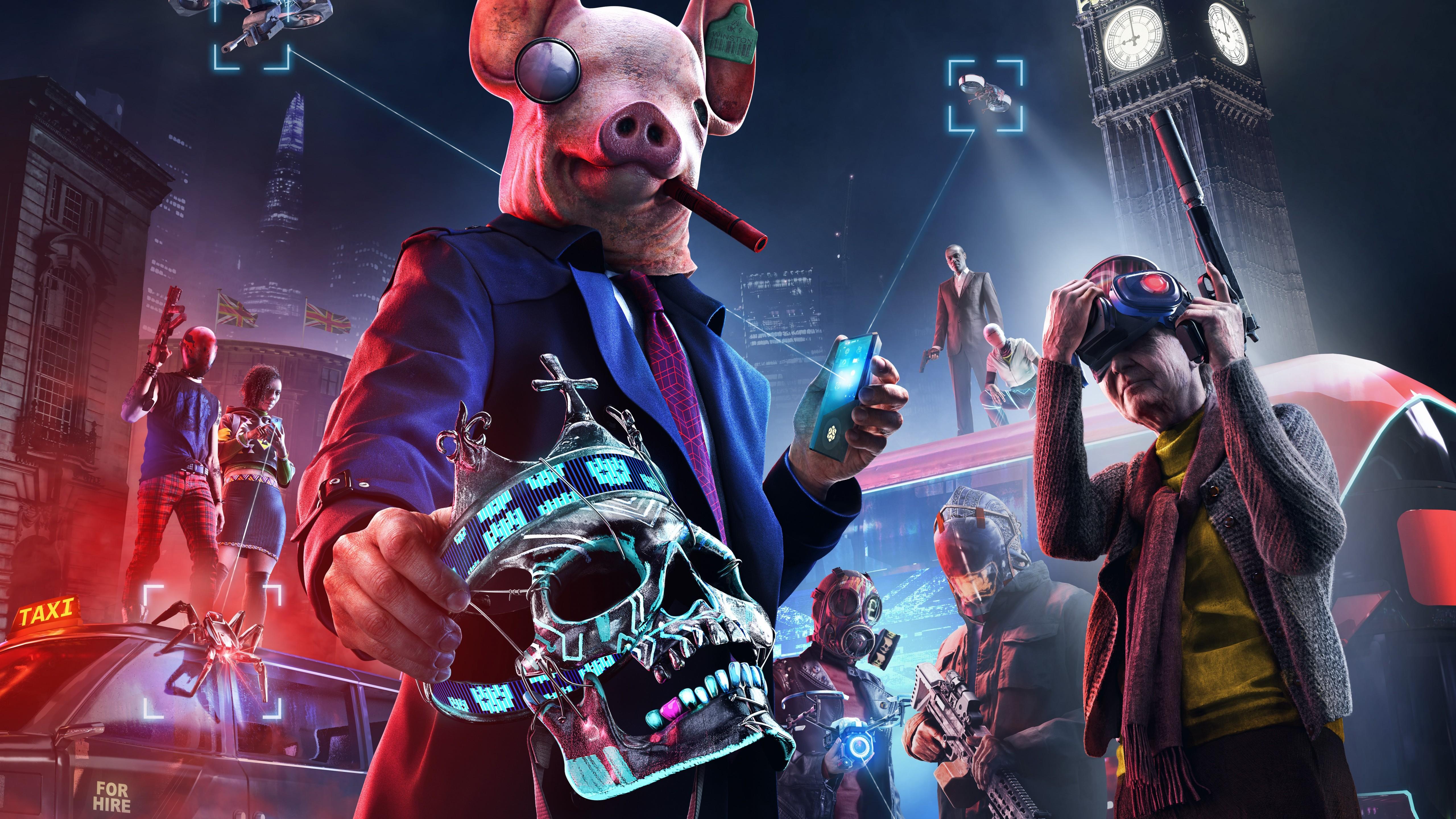 Wallpaper Watch Dogs: Legion, E3 2019, poster, 8K, Games ...
