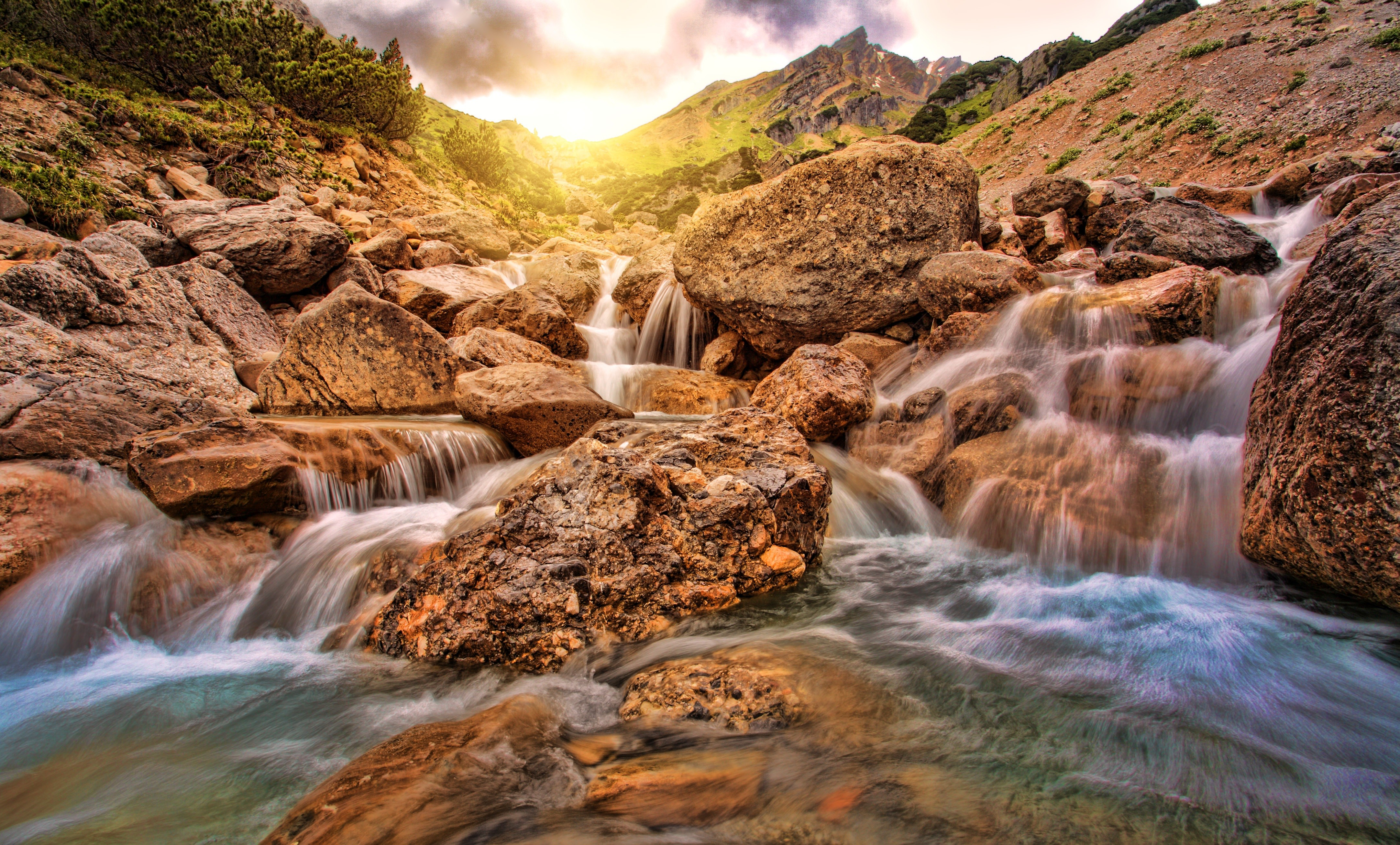 how to upload pictures from iphone wallpaper waterfall alpine 4k nature 19254 19254