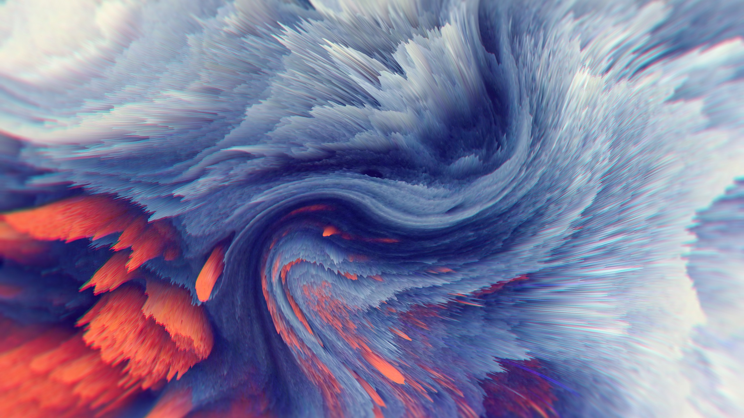 Wallpaper Waves HD Abstract 15377