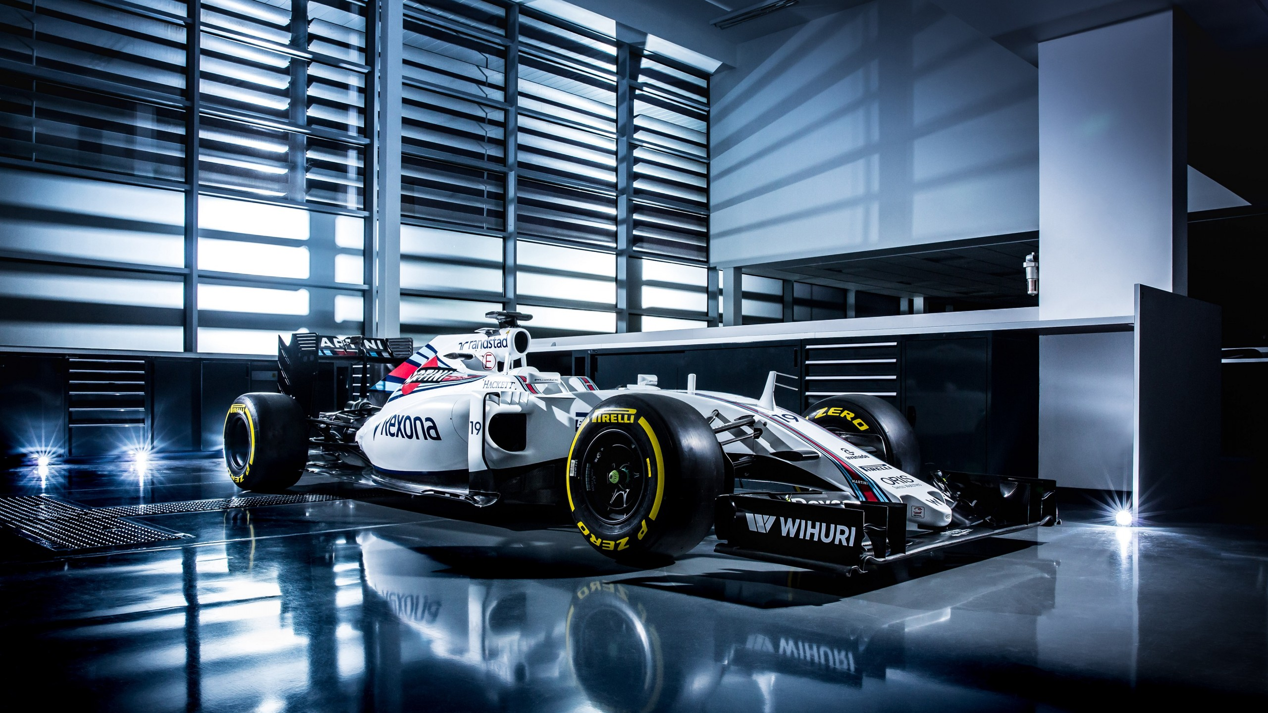 Wallpaper Williams Fw38 Formula 1 Testing Live From