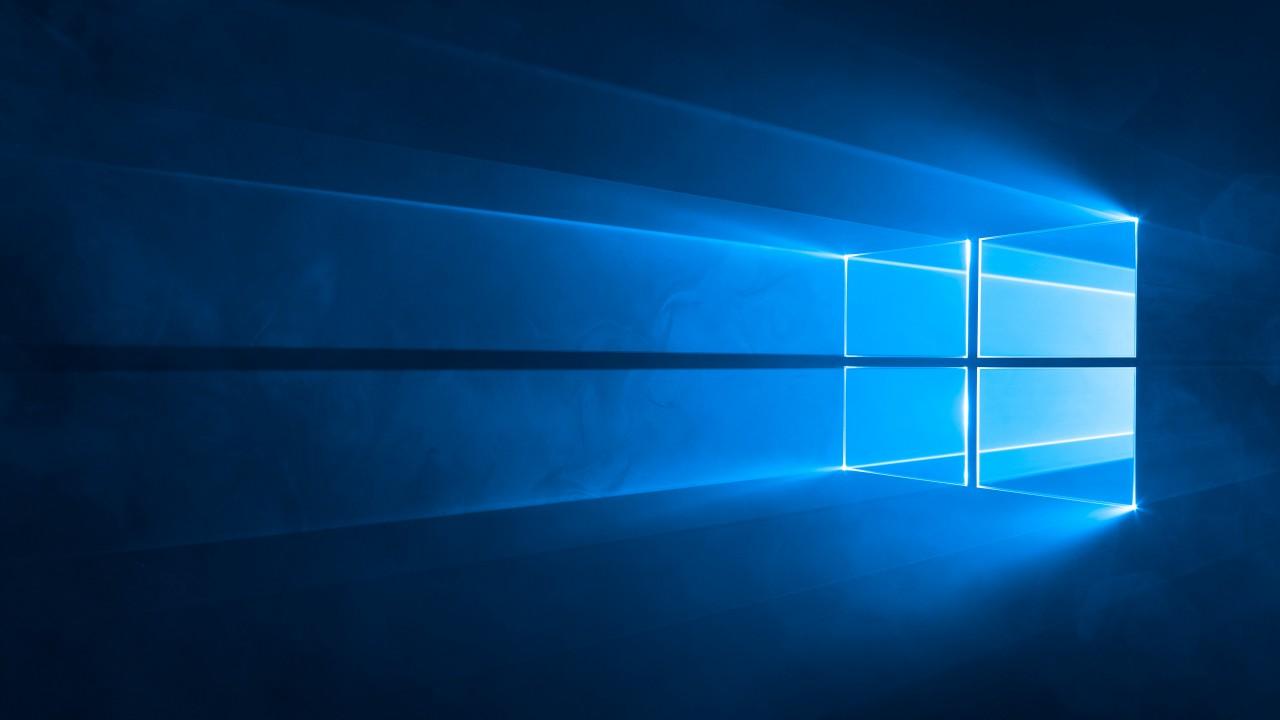Wallpaper Windows 10 4k 5k wallpaper Microsoft blue