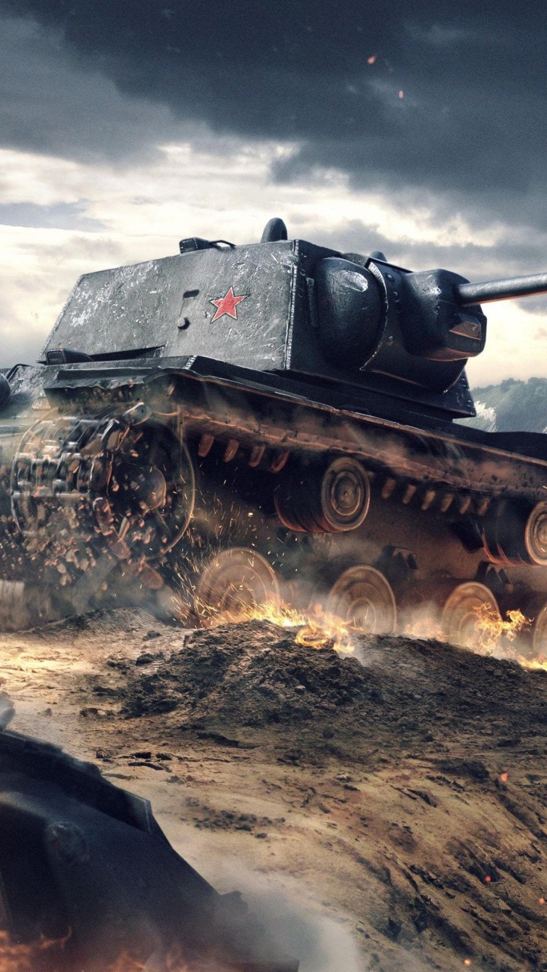 Wallpaper World of Tanks Blitz, game, tactic, mmo, tank