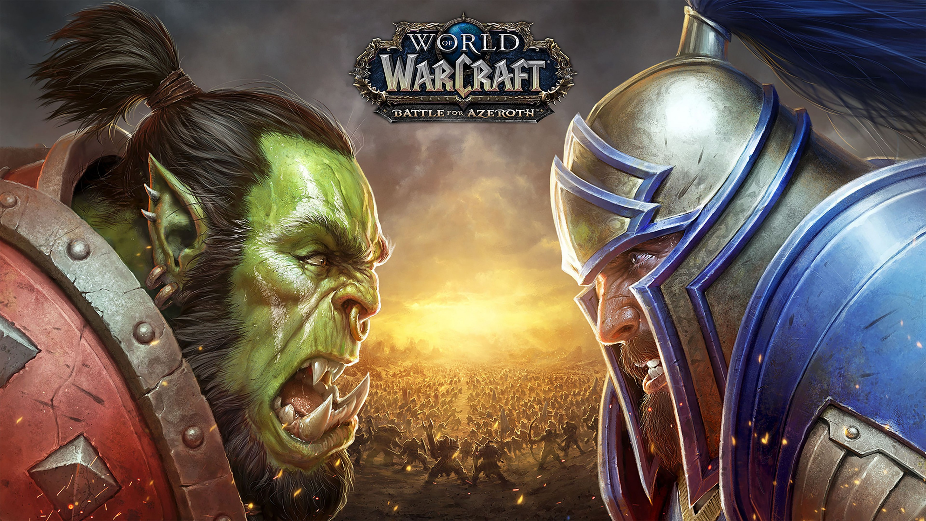 Wallpaper World Of Warcraft Battle For Azeroth Poster 4k Games
