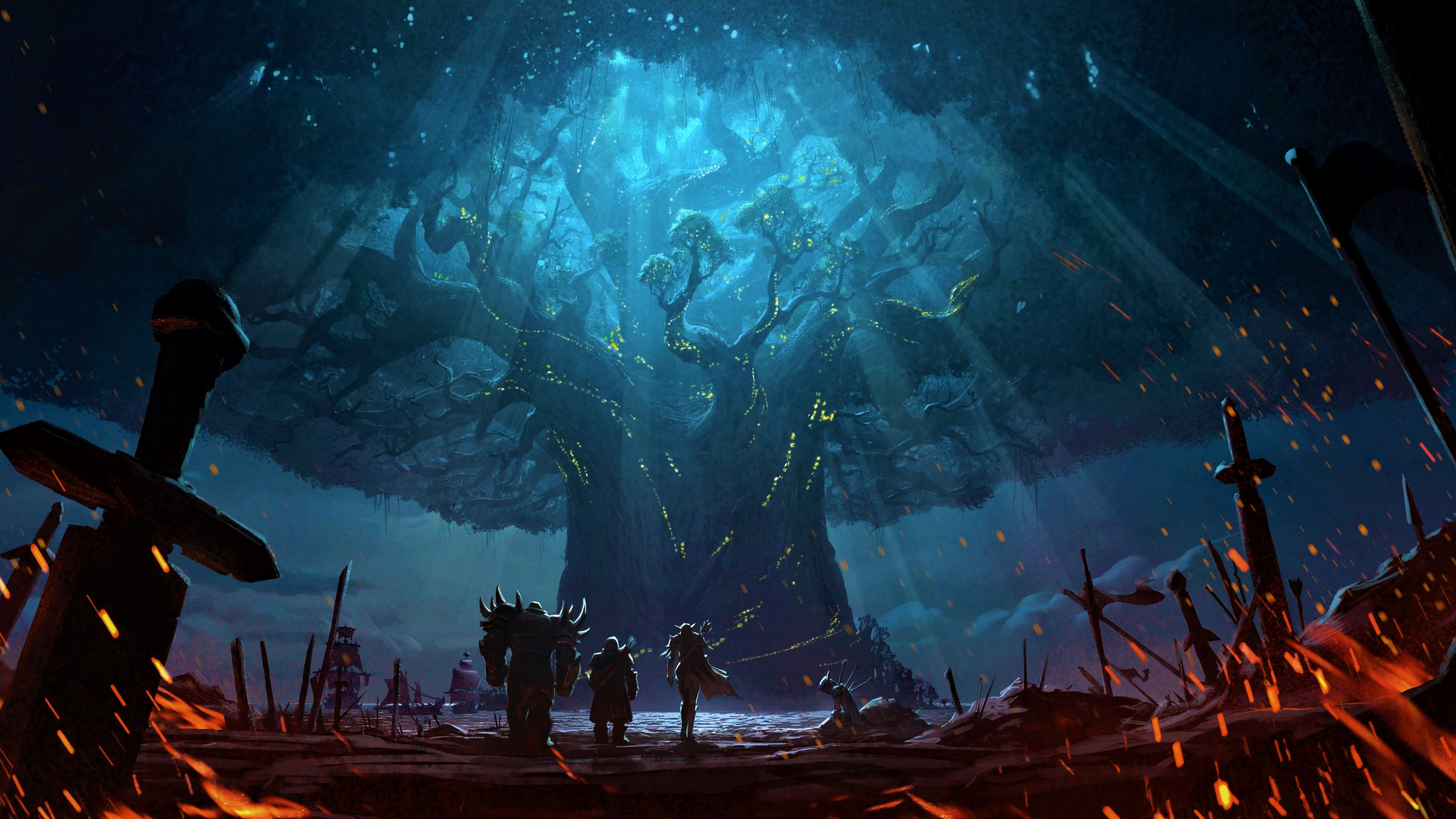 Wallpaper World Of Warcraft Battle For Azeroth
