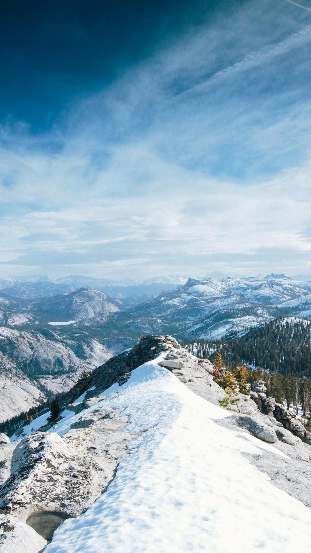 Wallpaper Yosemite, 5K, 4K Wallpaper, 8K, Winter, Snow -7975