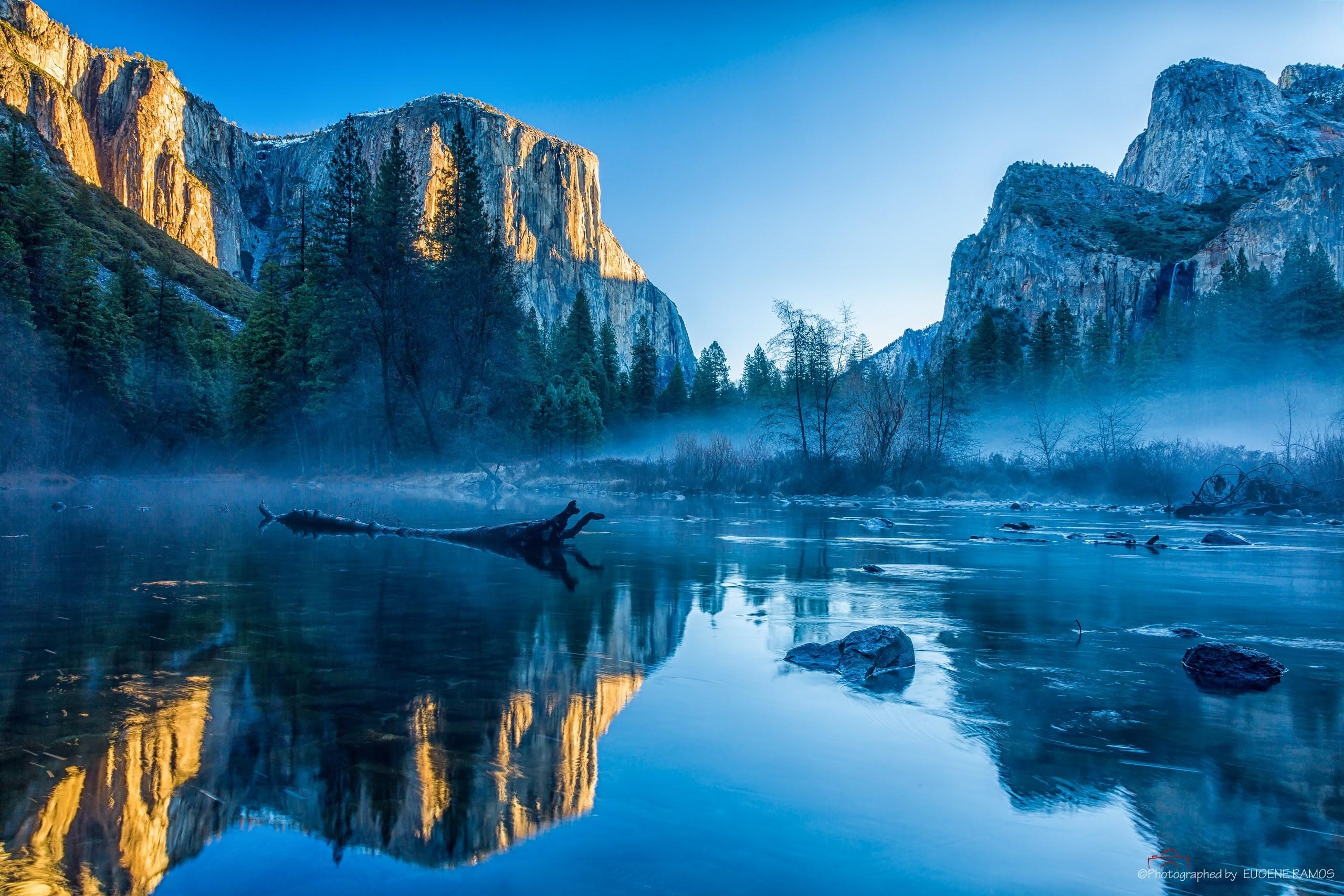 Yosemite wallpaper nature water yosemite el capitan for Wallpaper home 5k