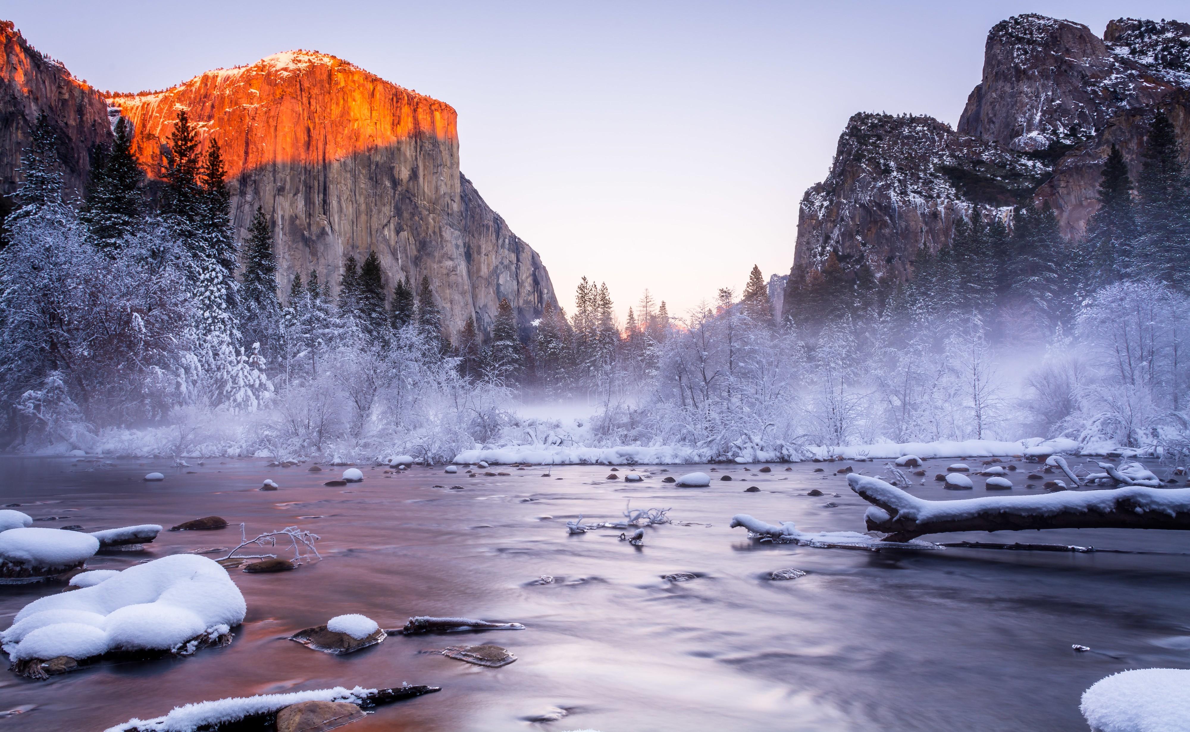 Wallpaper Yosemite 5k 4k Wallpaper National Park
